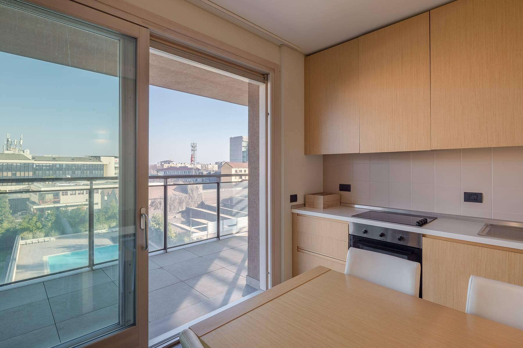 New two-room apartment with terrace in Giax Tower - 9