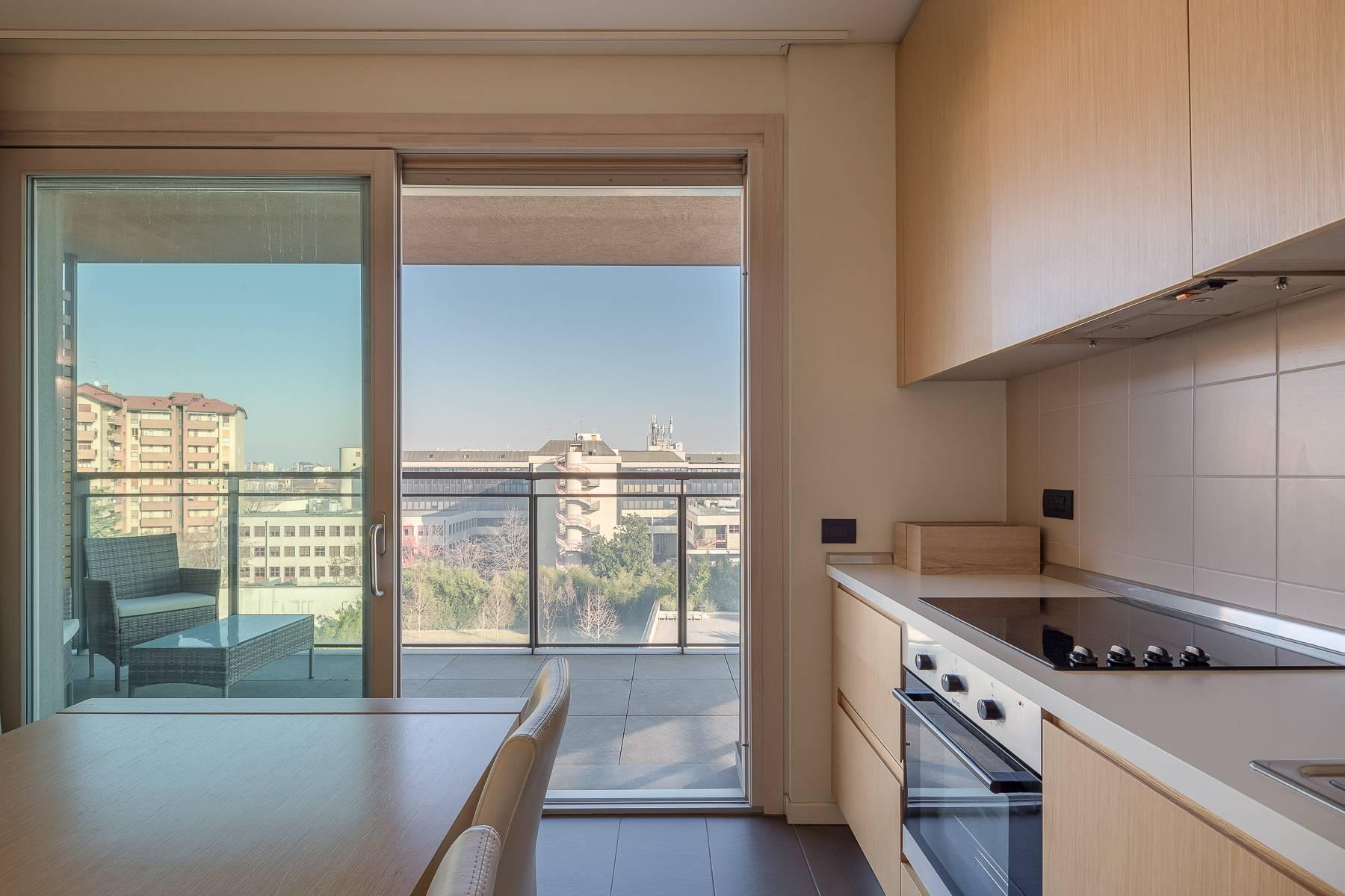 New two-room apartment with terrace in Giax Tower - 21