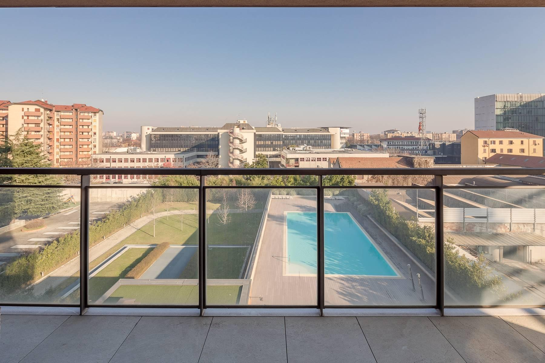 New two-room apartment with terrace in Giax Tower - 8