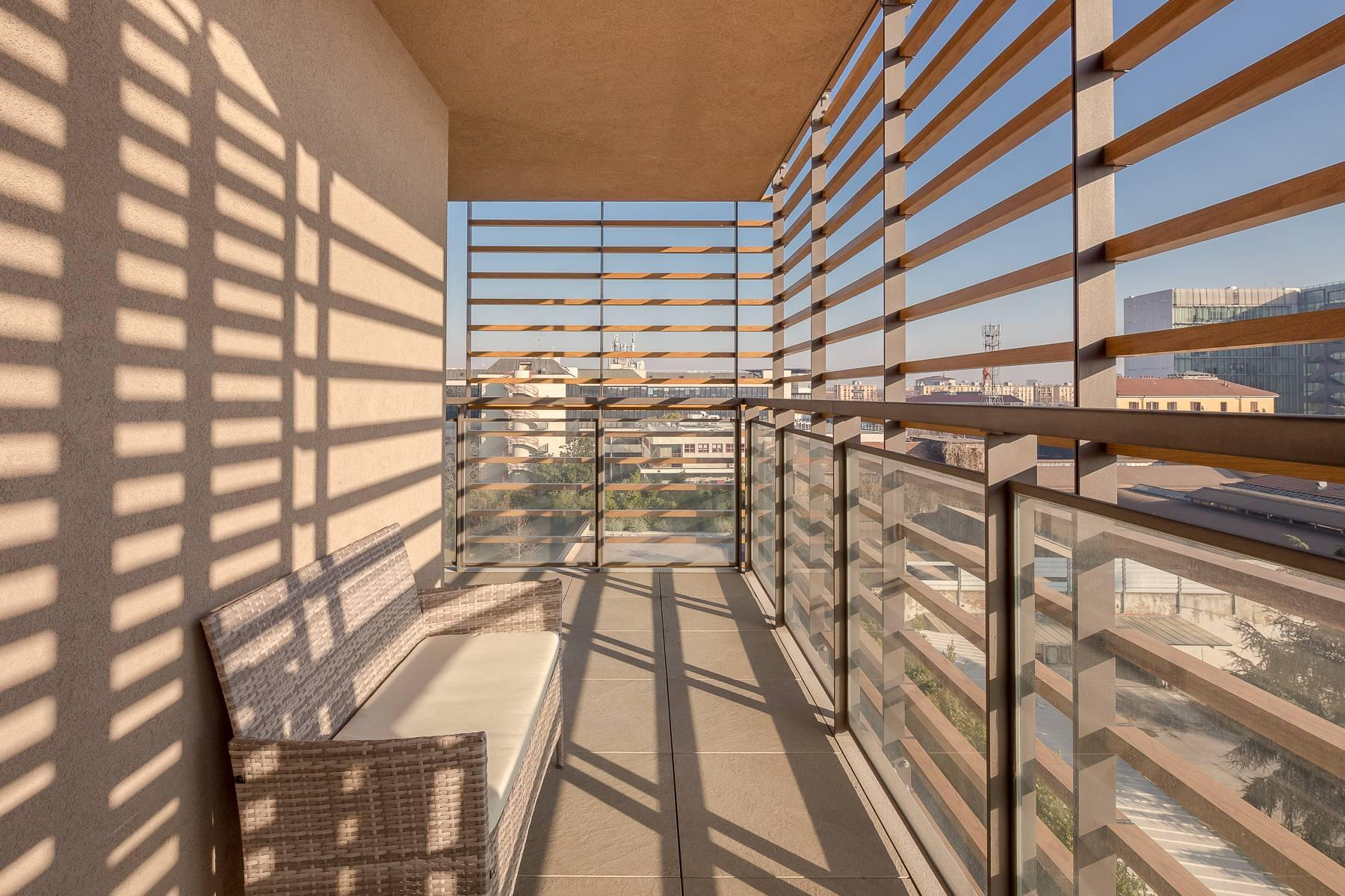 New two-room apartment with terrace in Giax Tower - 23