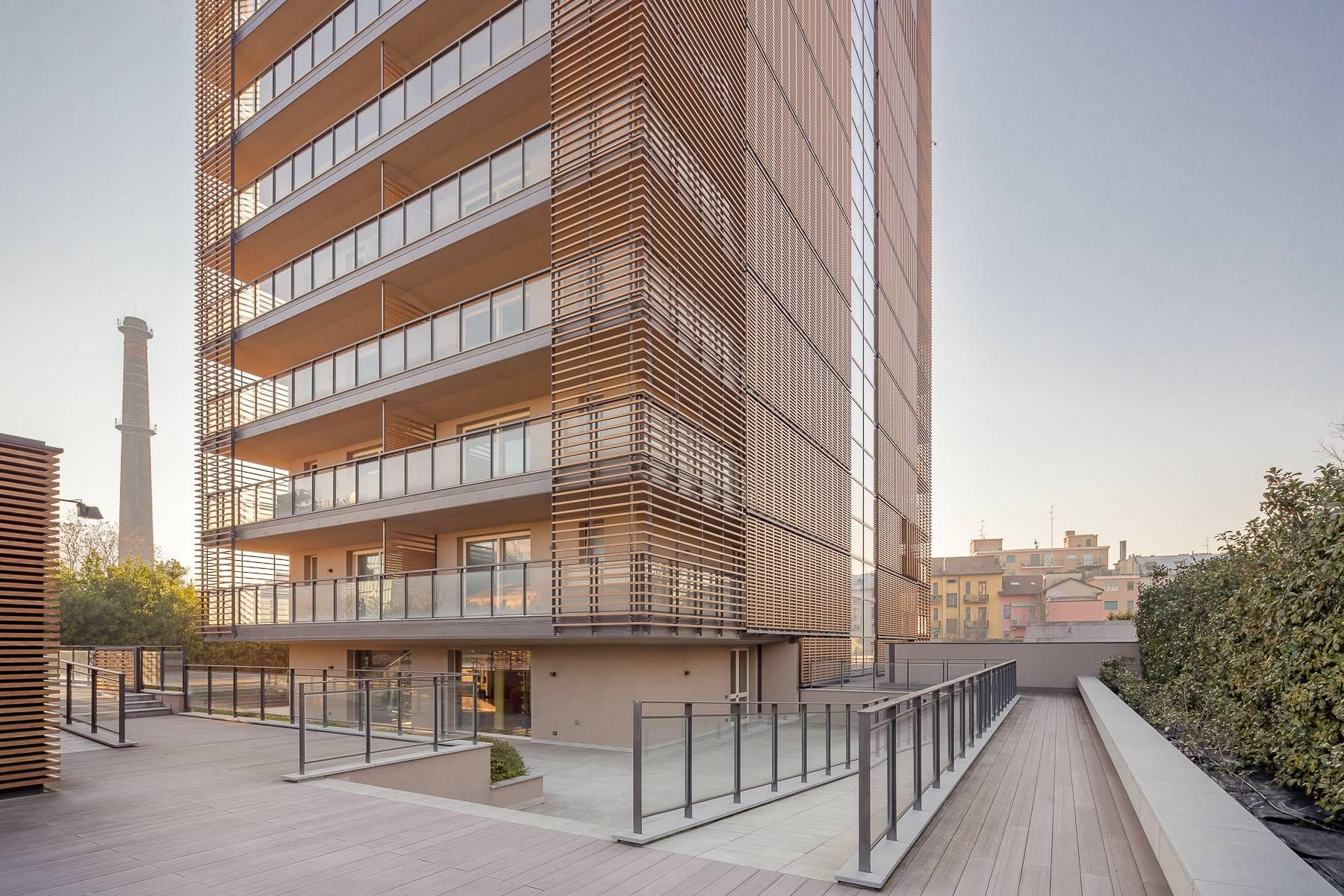 New two-room apartment with terrace in Giax Tower - 31