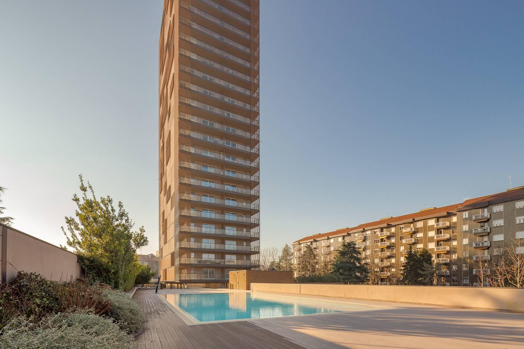 New two-room apartment with terrace in Giax Tower - 17