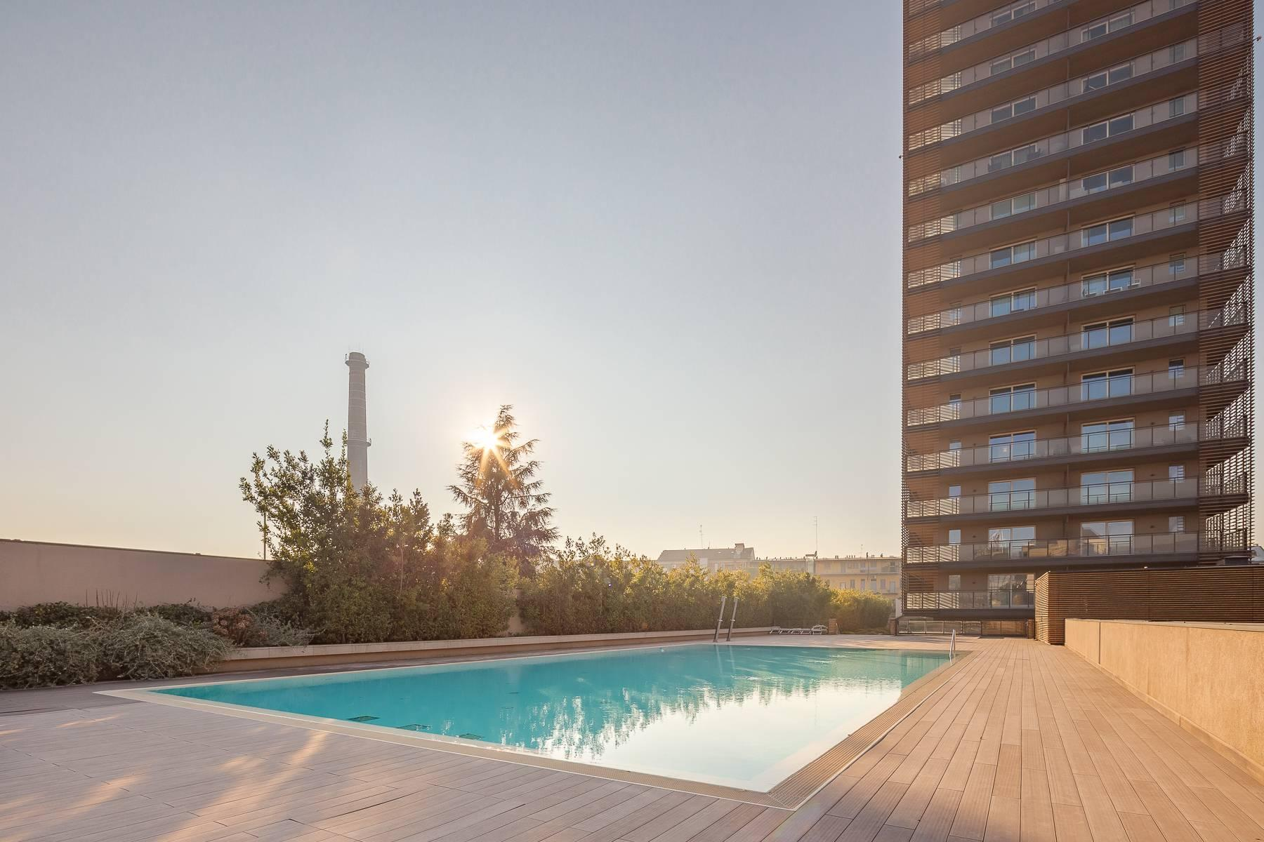 New two-room apartment with terrace in Giax Tower - 13