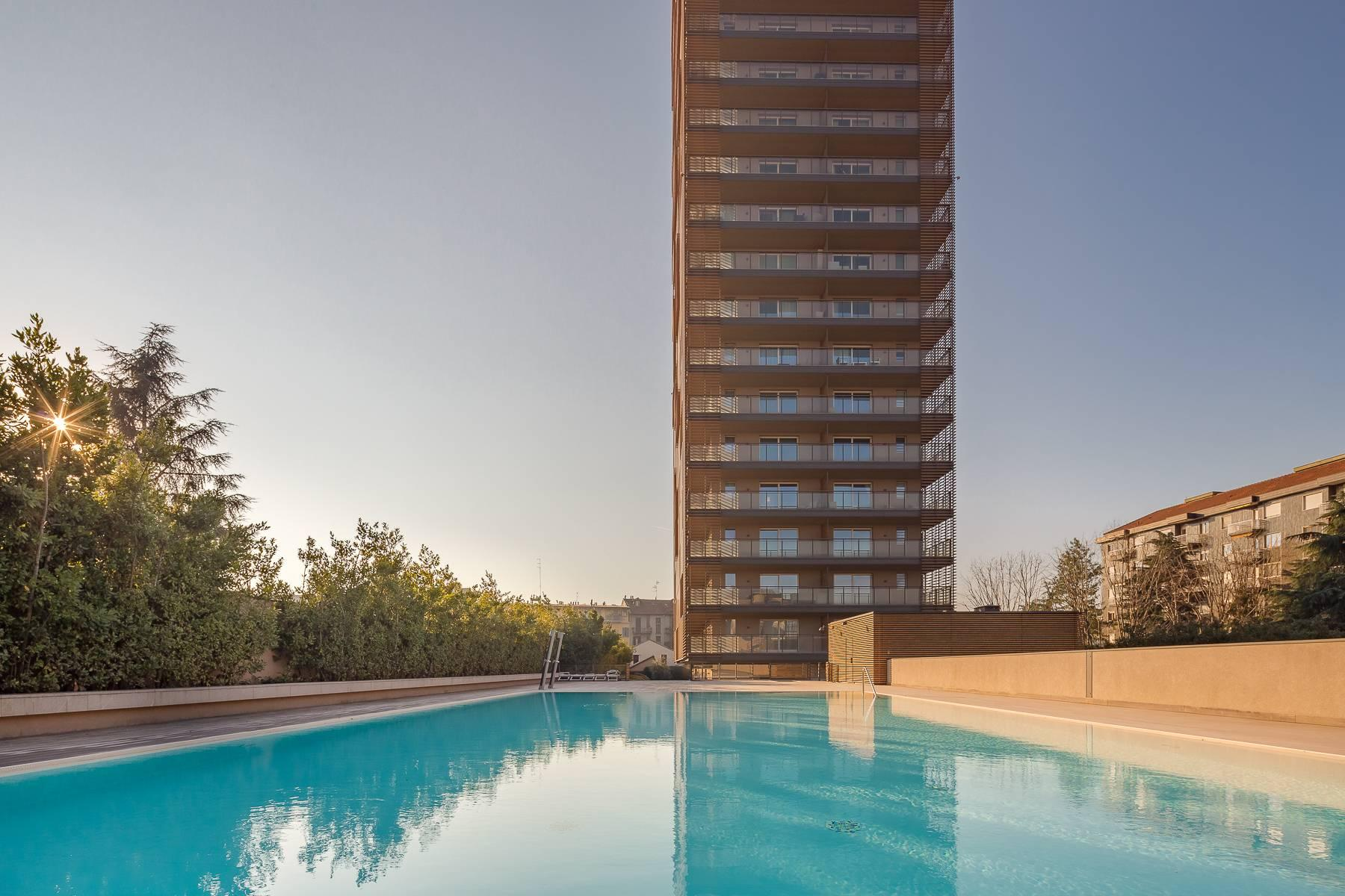 New two-room apartment with terrace in Giax Tower - 32