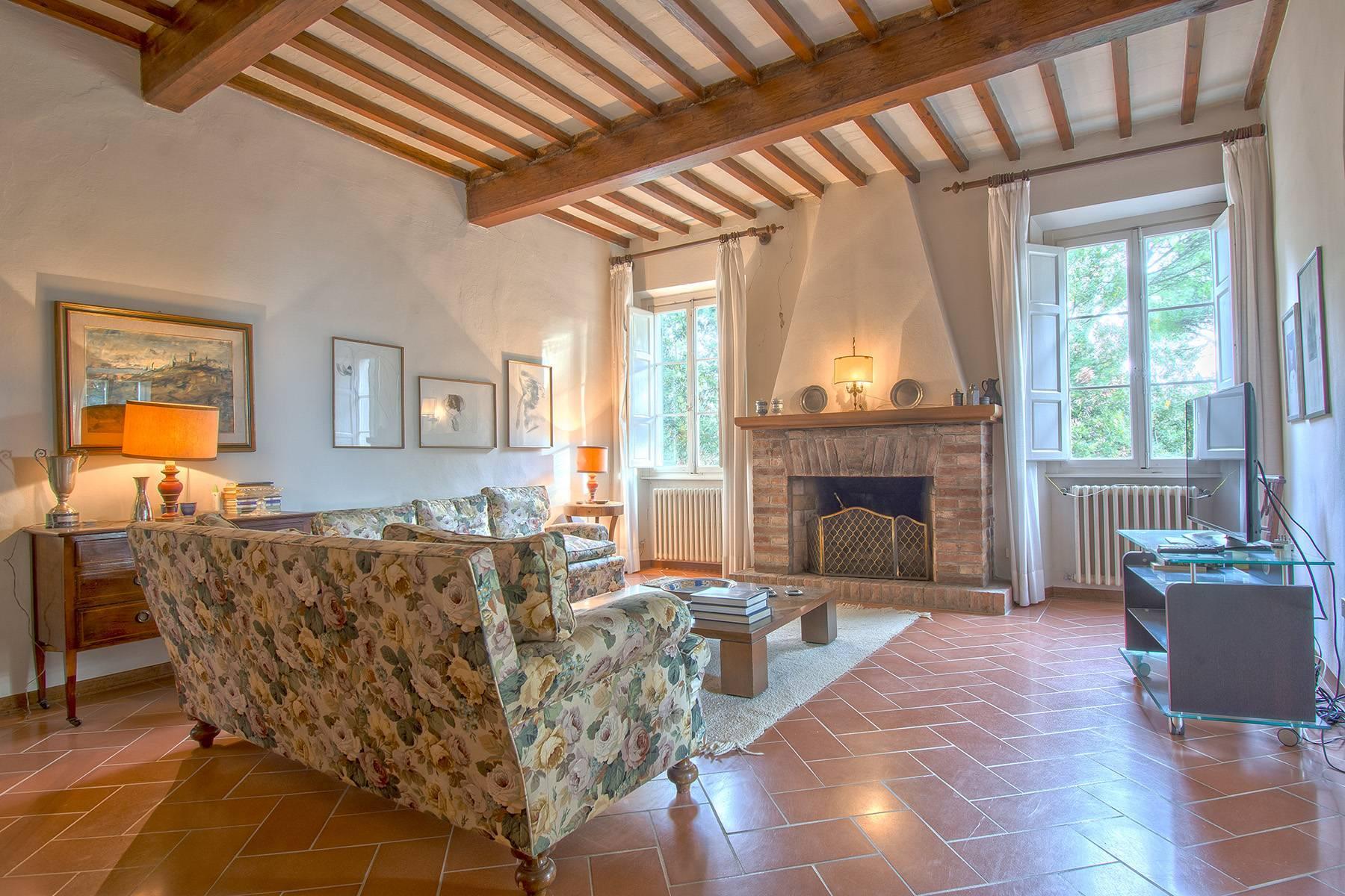 Weingut mit historischer Villa in San Miniato, Pisa - 8