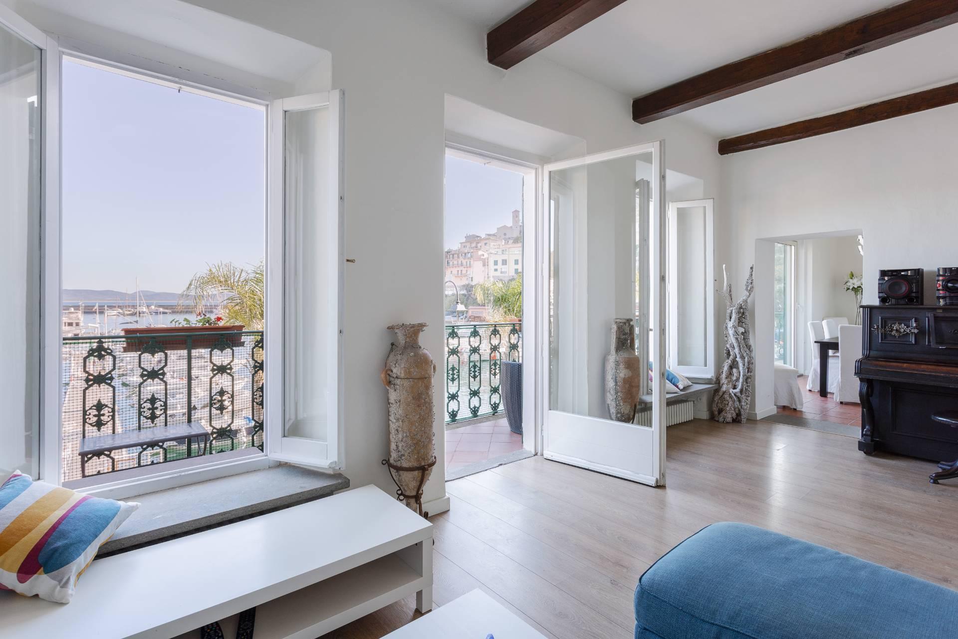 Porto Ercole - Superbe maison familiale en bord  dans un bâtiment historique - 4