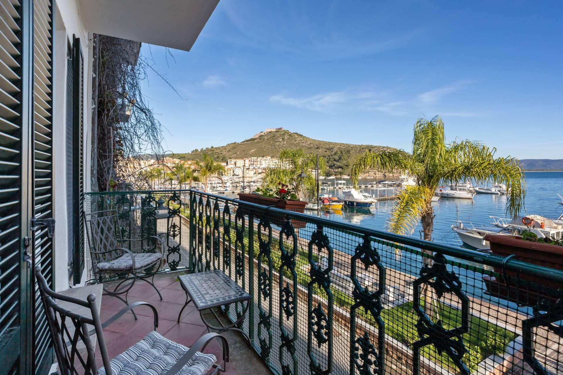 Porto Ercole - Stunning seafront family home with amazing views in historic building - 26