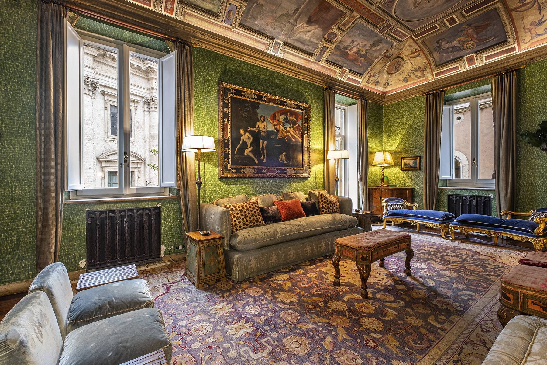 Magnificent noble floor with frescos and terrace in a XVI century palace - 6