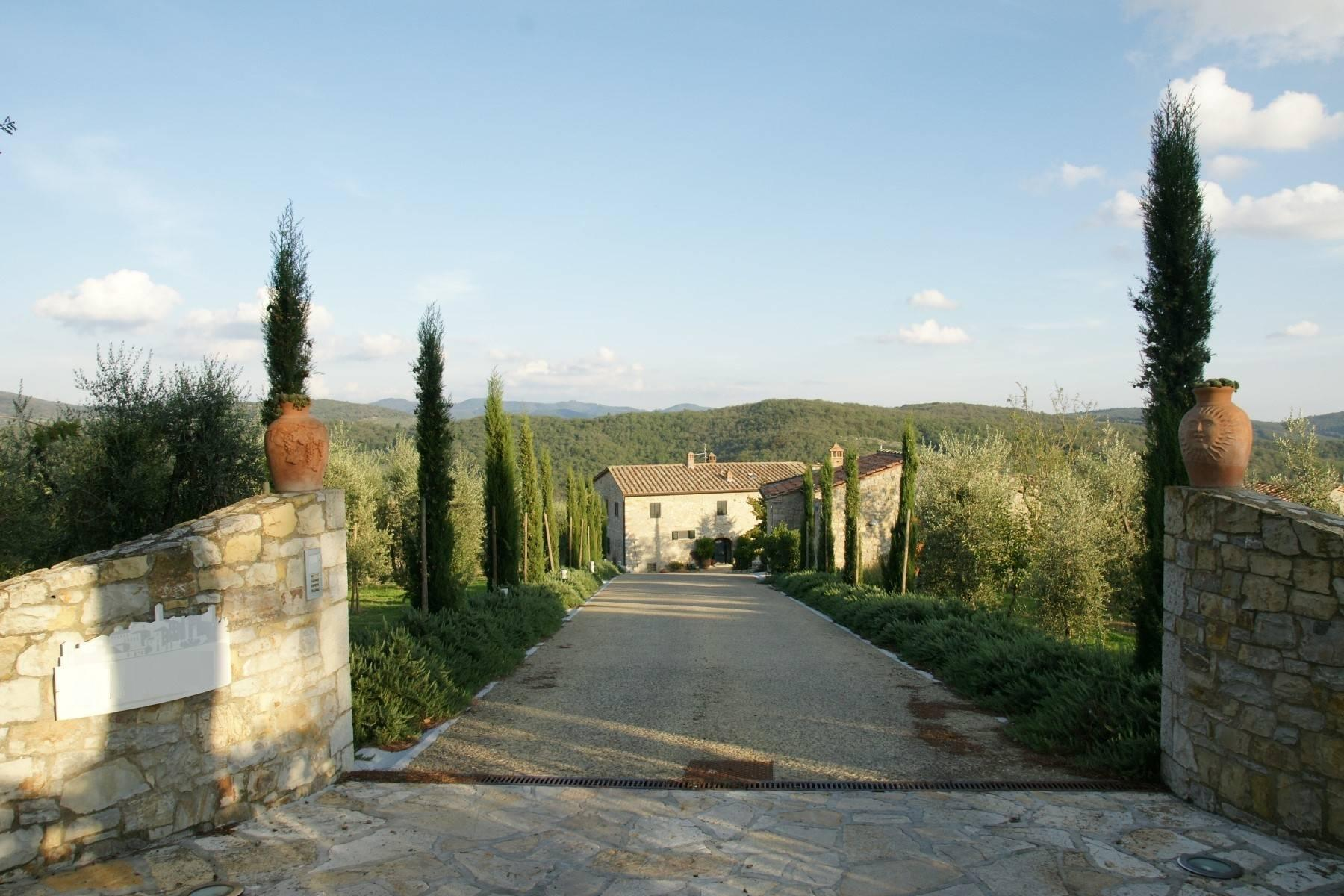 Residential property and boutique winery in the heart of Chianti - 1