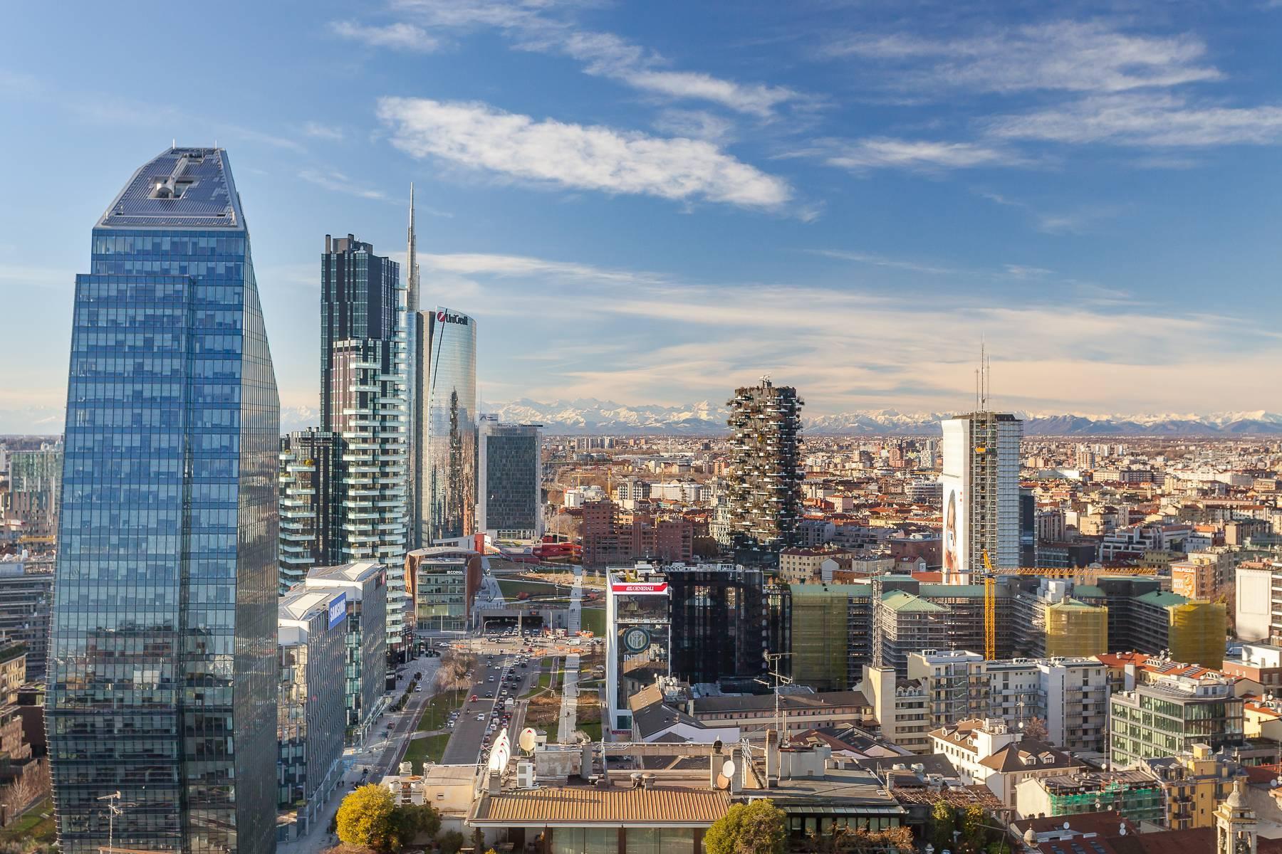 Spektakuläre Wohnung im Wolkenkratzer auf der Piazza Repubblica - 15