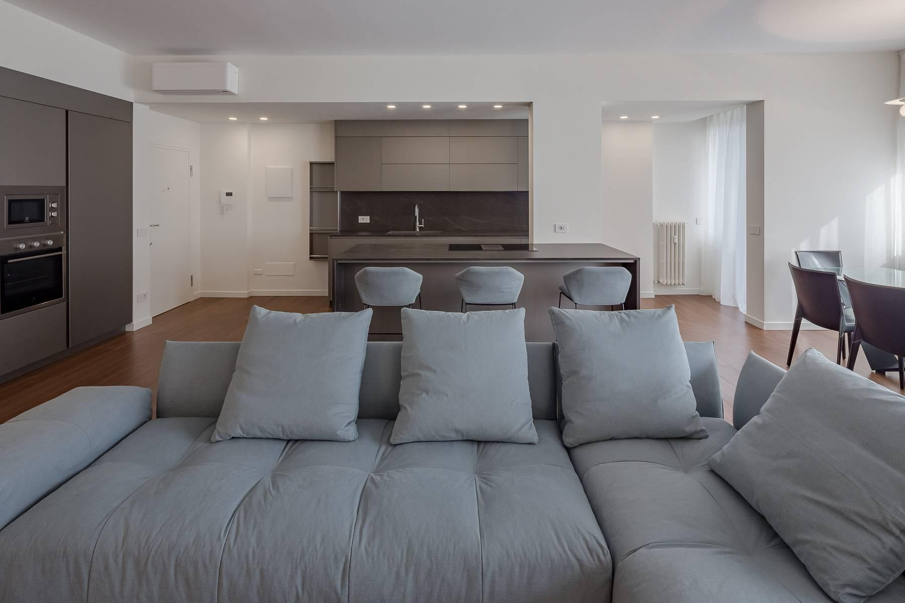 Beautiful fully furnished three room apartment in Sempione area - 16
