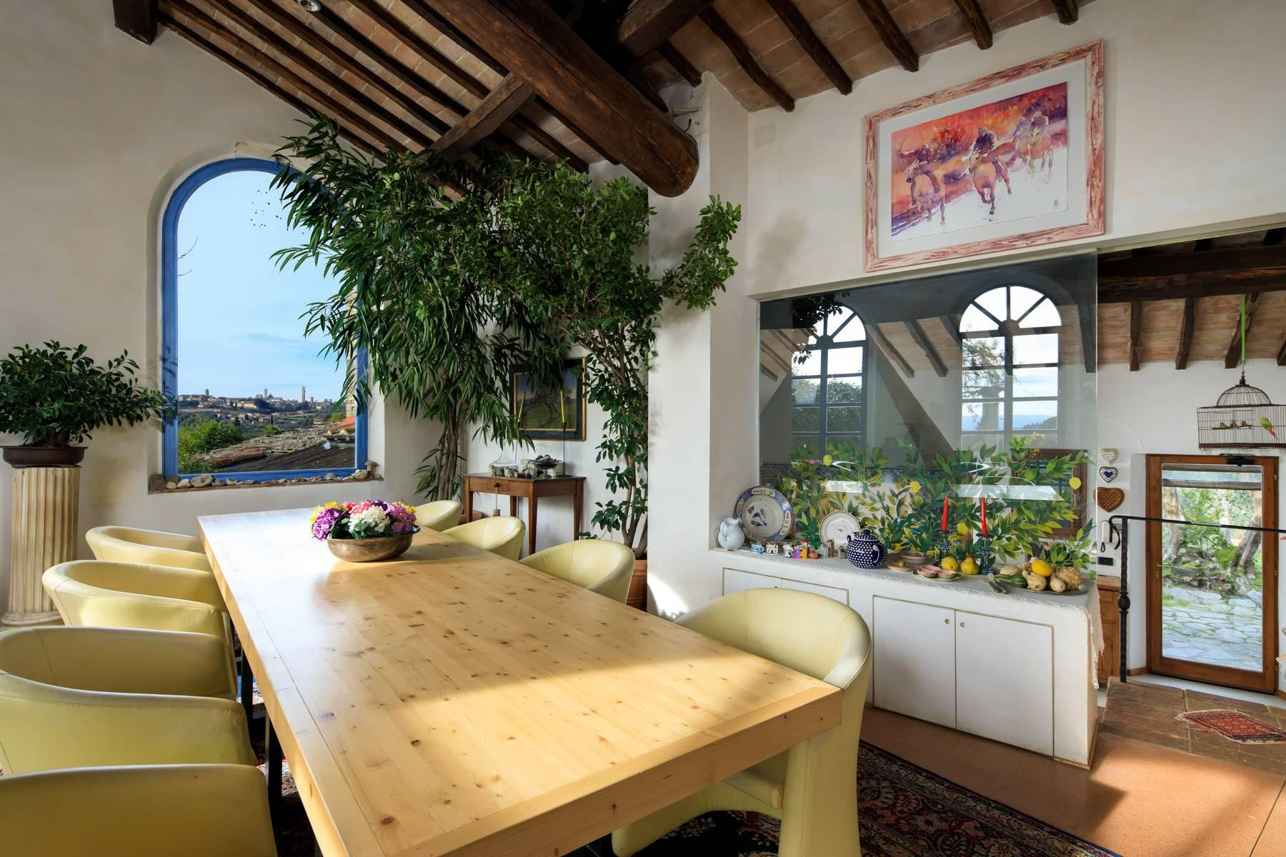 Wonderful historical Villa and country house close by Siena - 13
