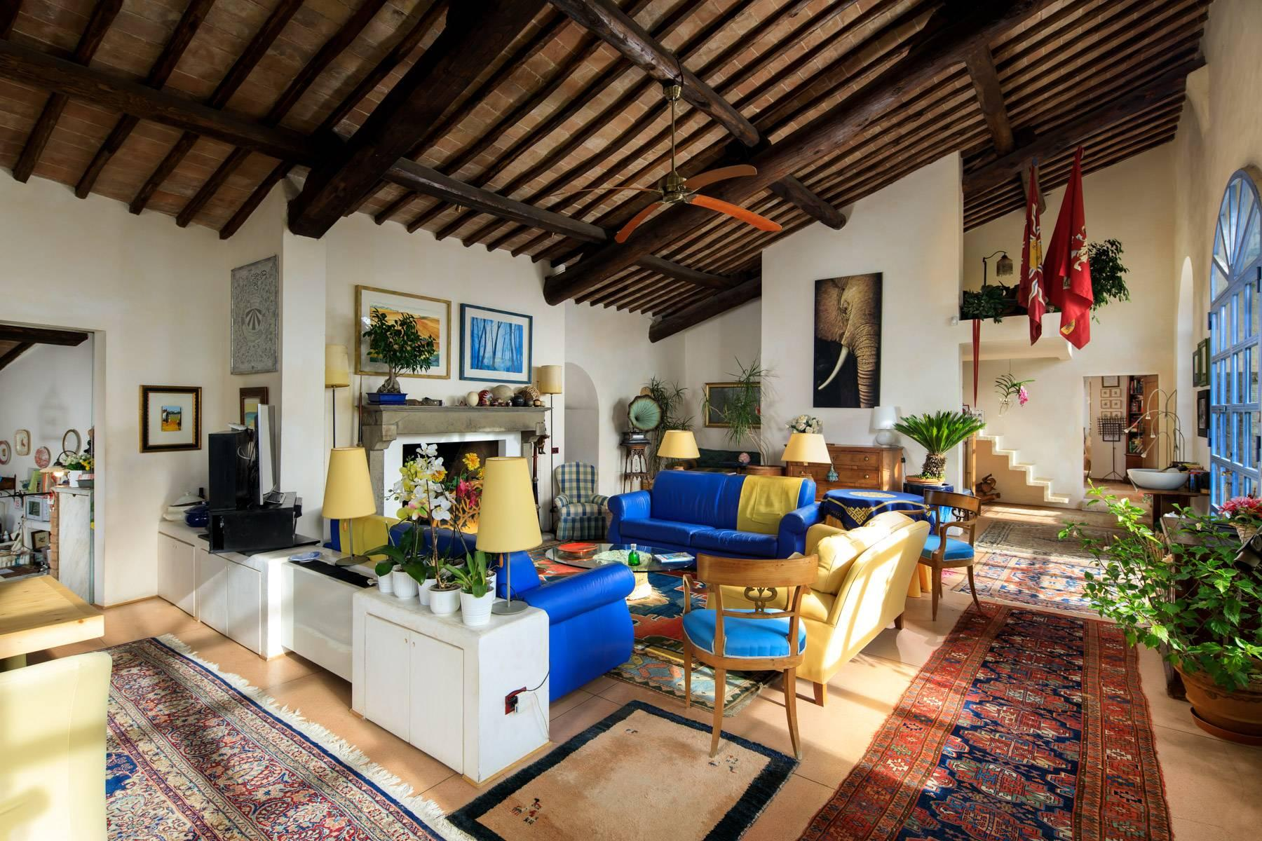 Wonderful historical Villa and country house close by Siena - 14
