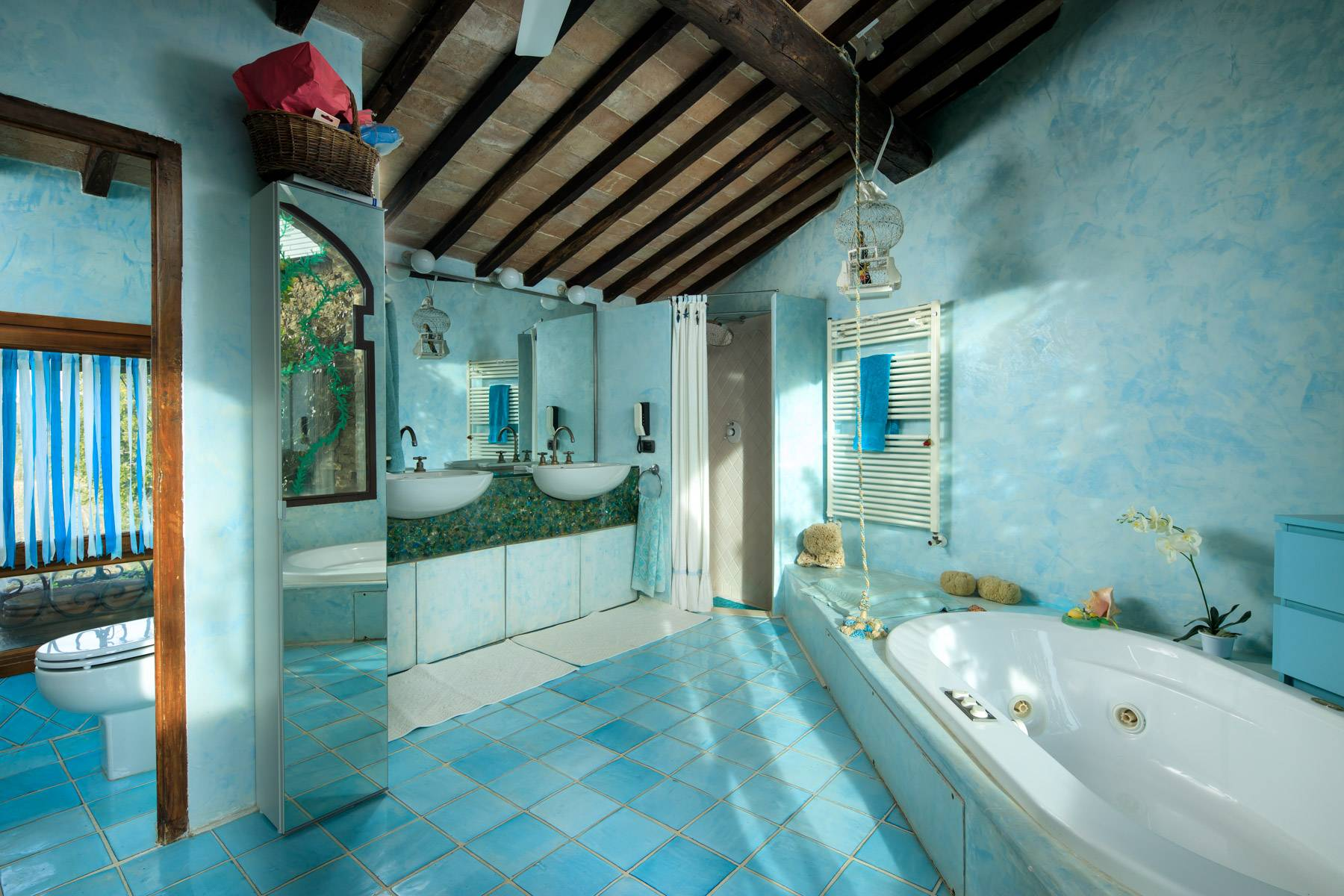 Wonderful historical Villa and country house close by Siena - 32