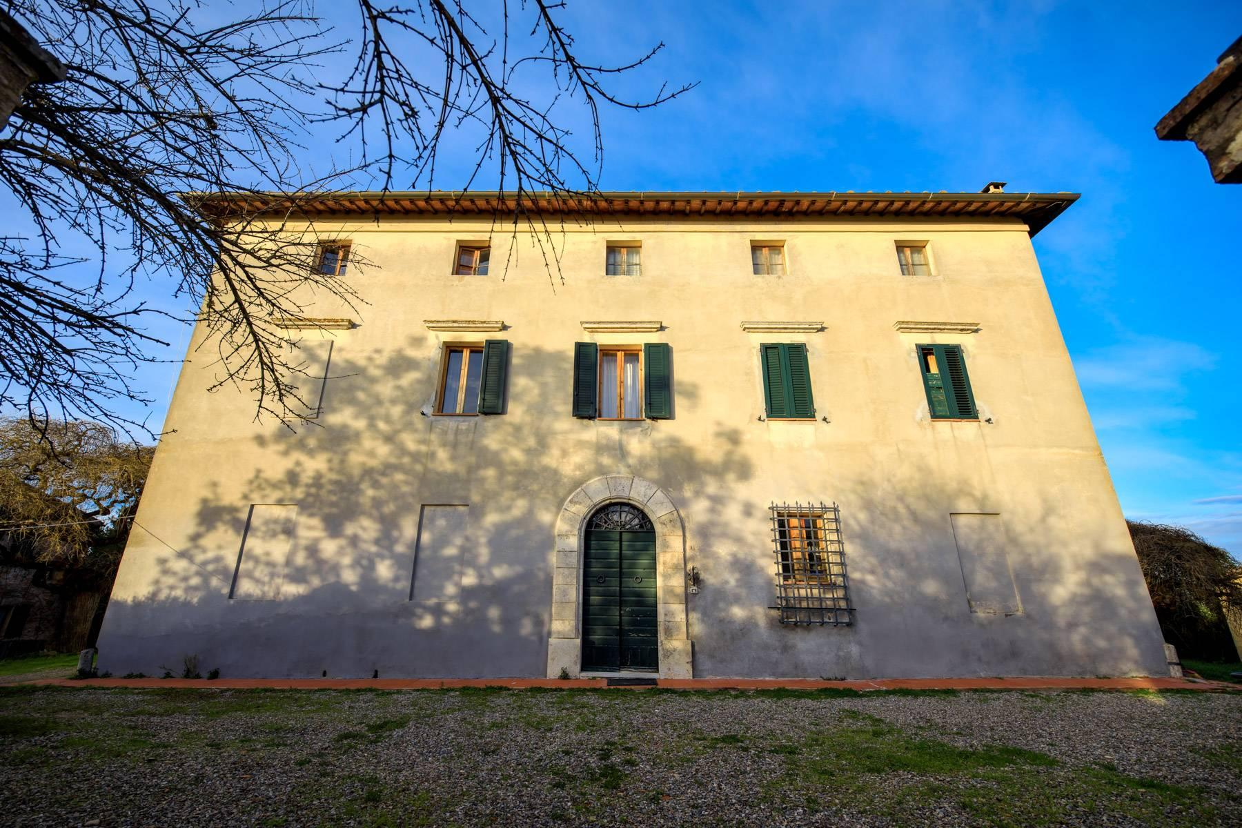 Wonderful historical Villa and country house close by Siena - 51
