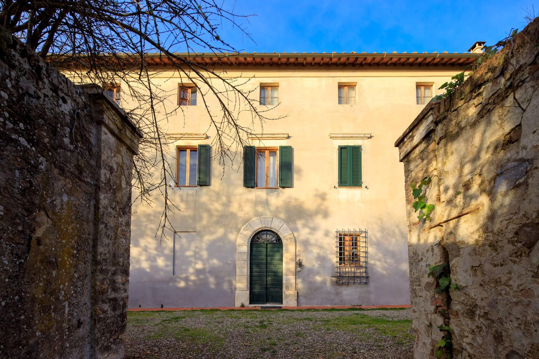 Wonderful historical Villa and country house close by Siena - 52