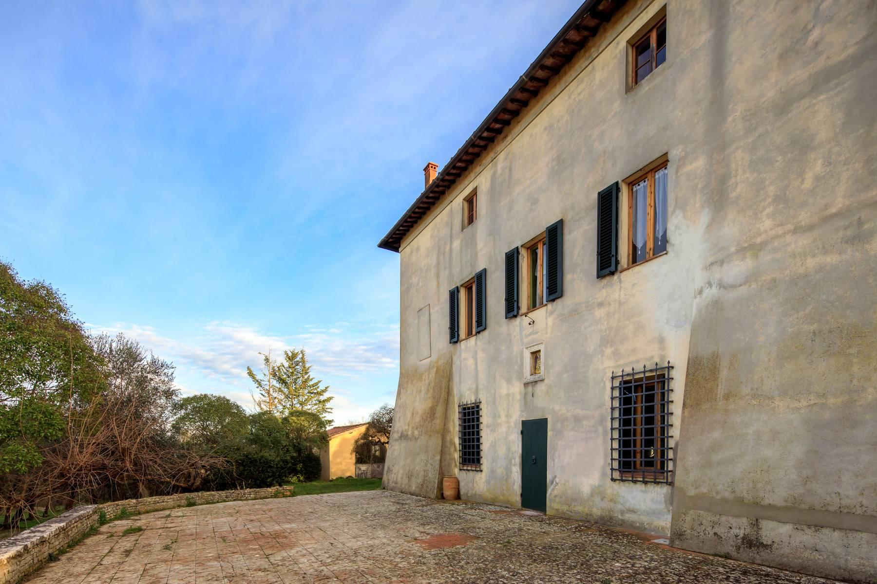 Wonderful historical Villa and country house close by Siena - 53