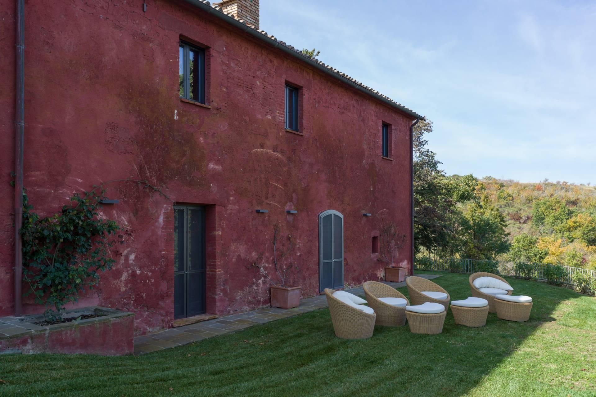 Herrliches Bauernhaus mit Panorama-Blick zwischen Val D'Orcia und Val di Chiana - 5