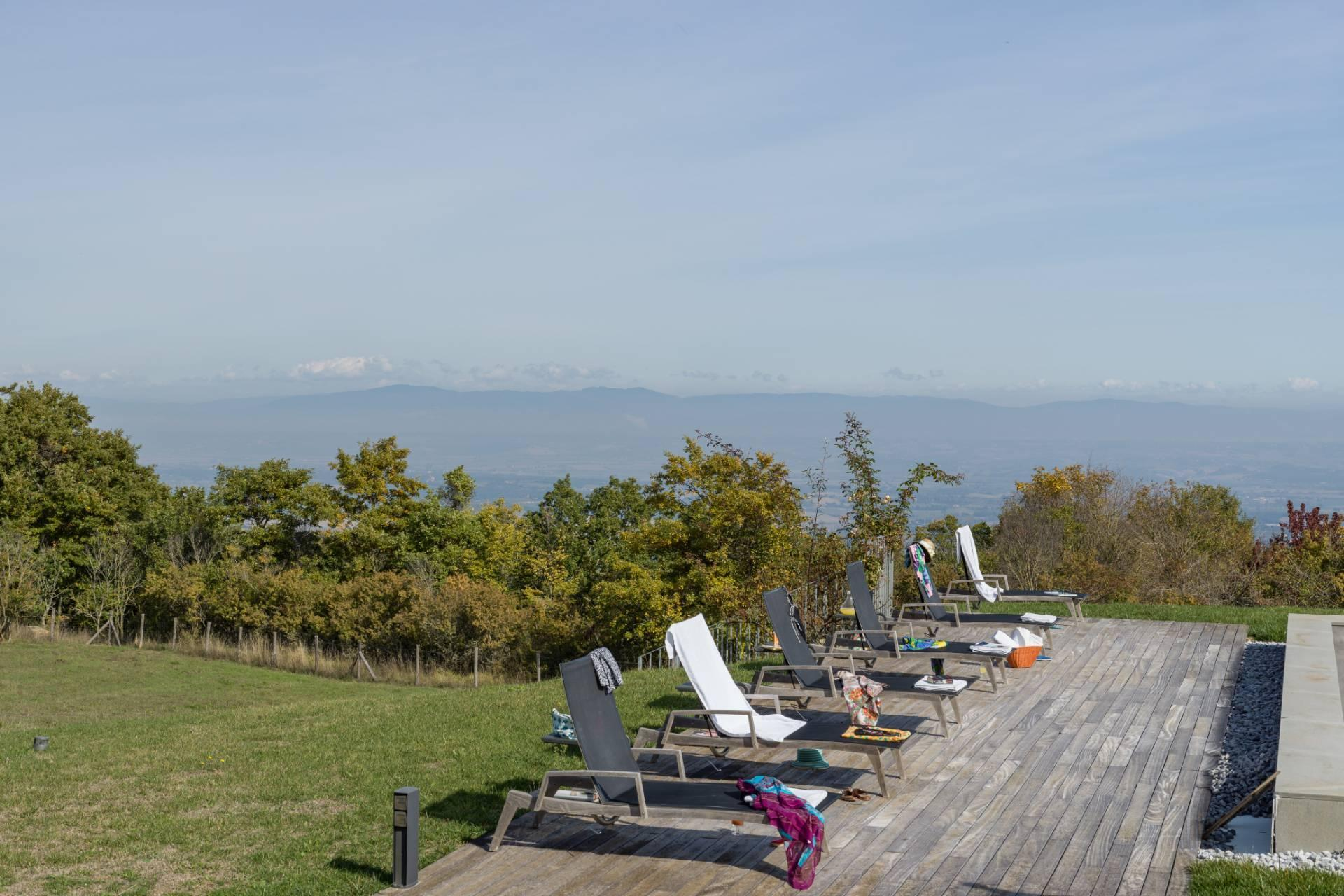 Herrliches Bauernhaus mit Panorama-Blick zwischen Val D'Orcia und Val di Chiana - 7