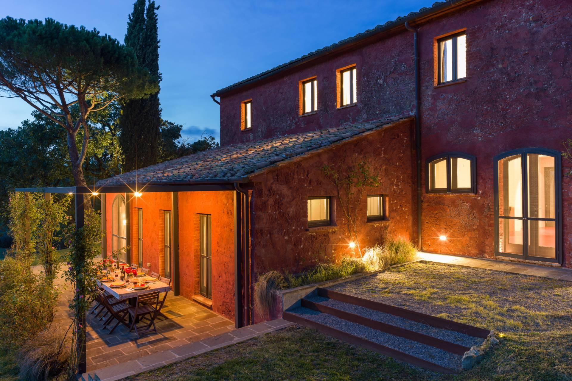 Enchanting, panoramic country house between the Val d'Orcia and Val di Chiana - 28