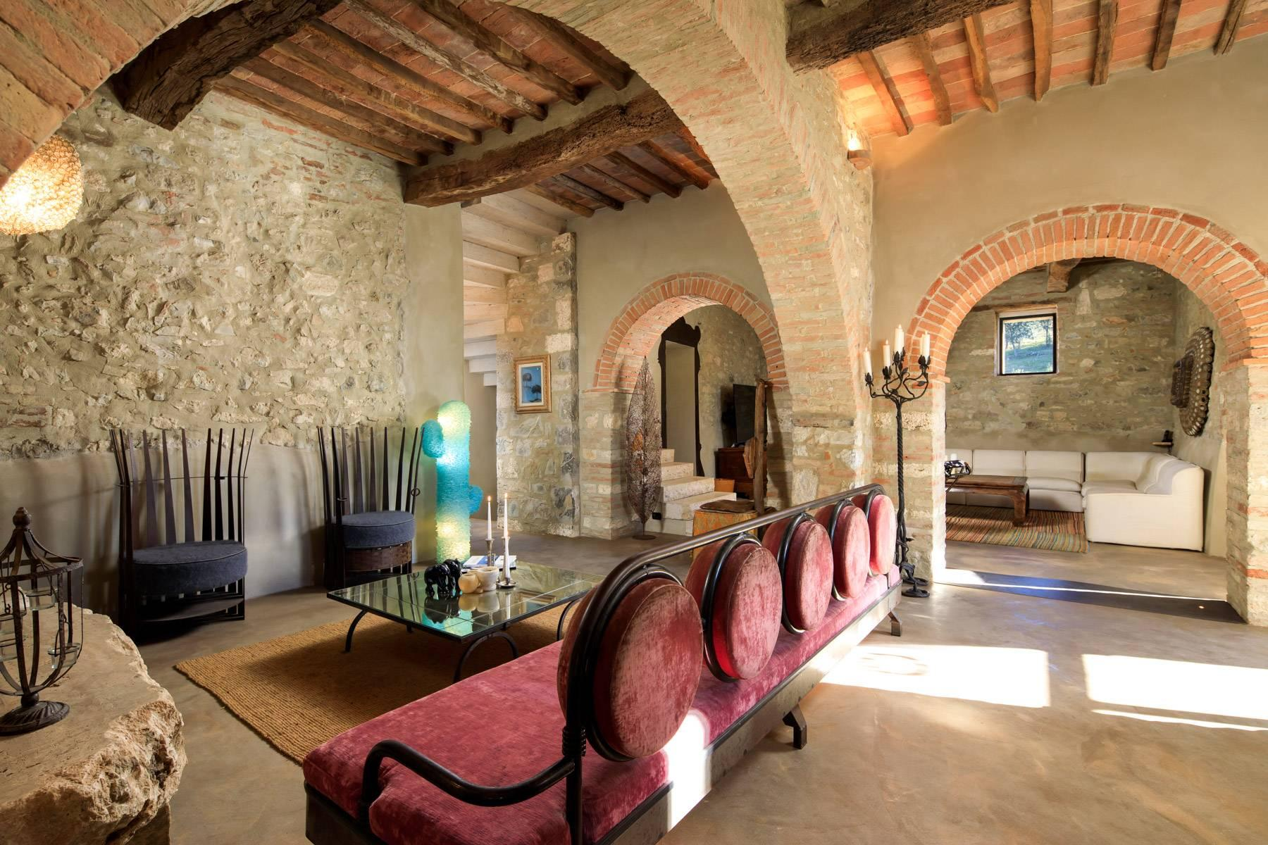 Elegant countryhouse with pool immersed in the Val d'Orcia - 9