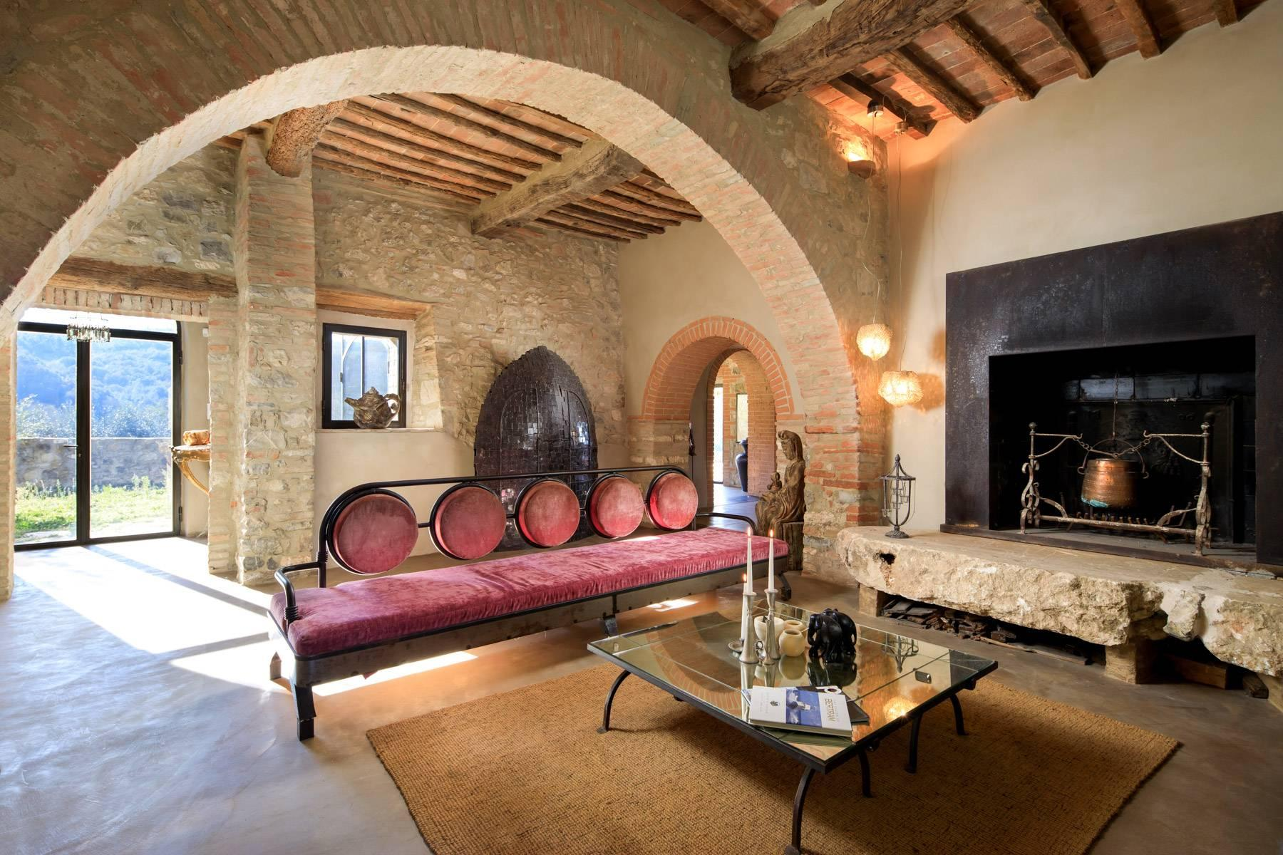 Elegant countryhouse with pool immersed in the Val d'Orcia - 10