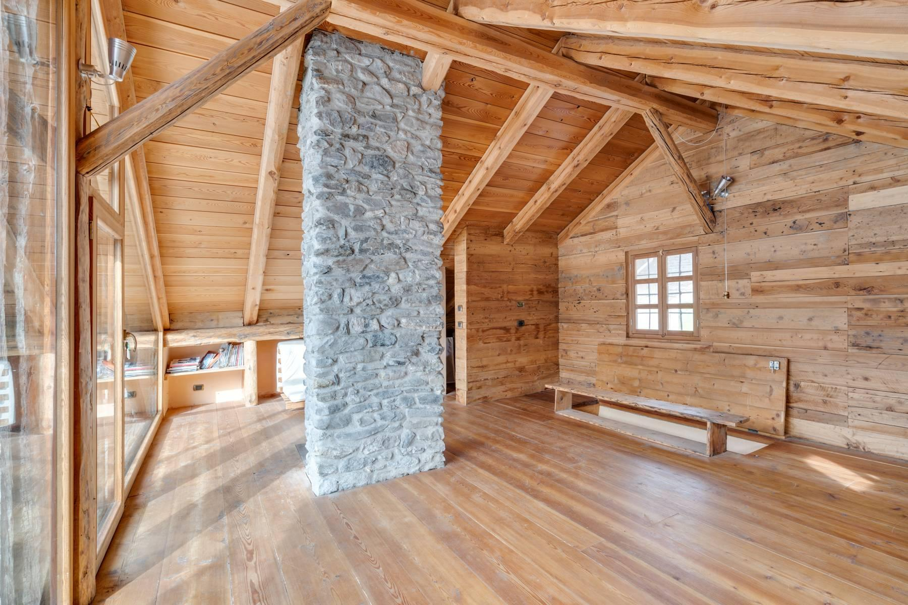 Bright chalet with panoramic view in Bousson - 9