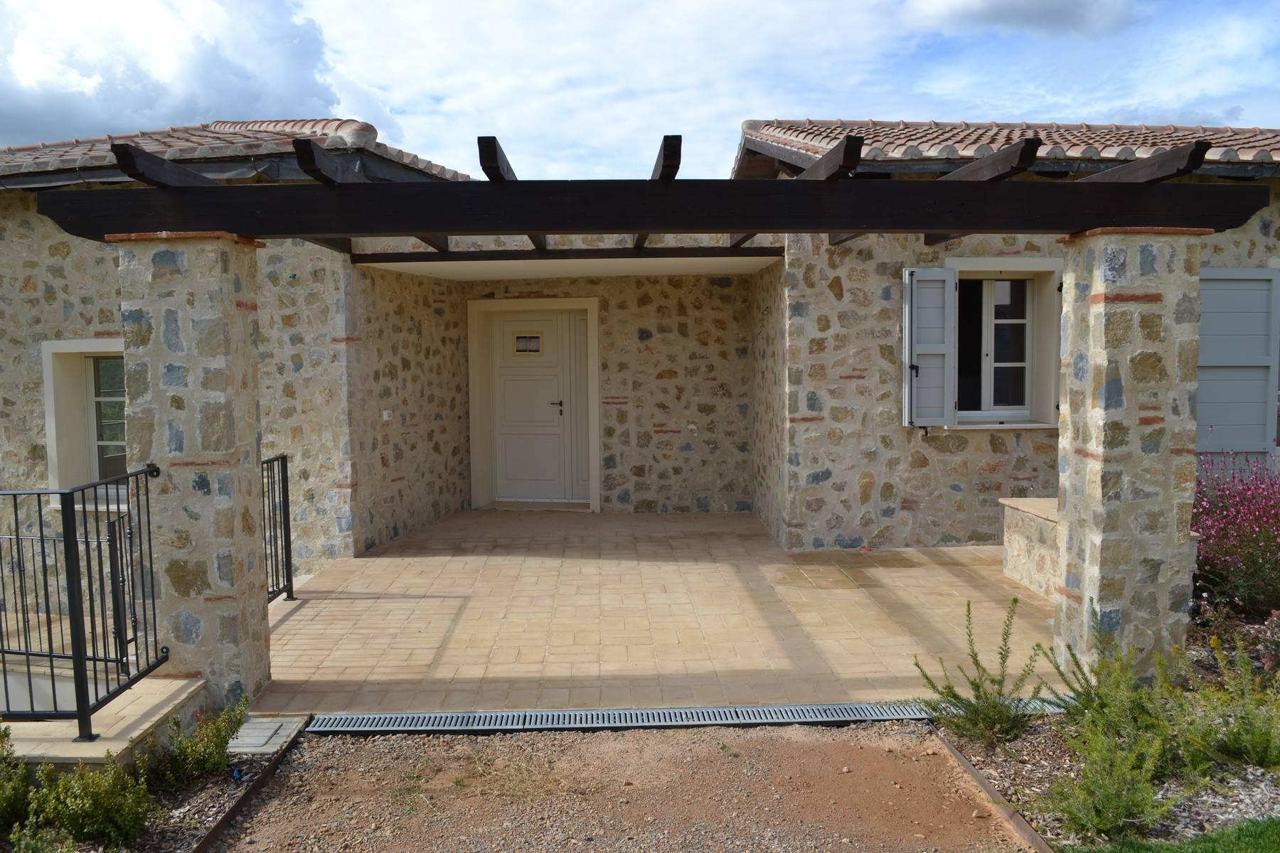 Esclusivo casale di nuova costruzione con piscina vista mare - 12