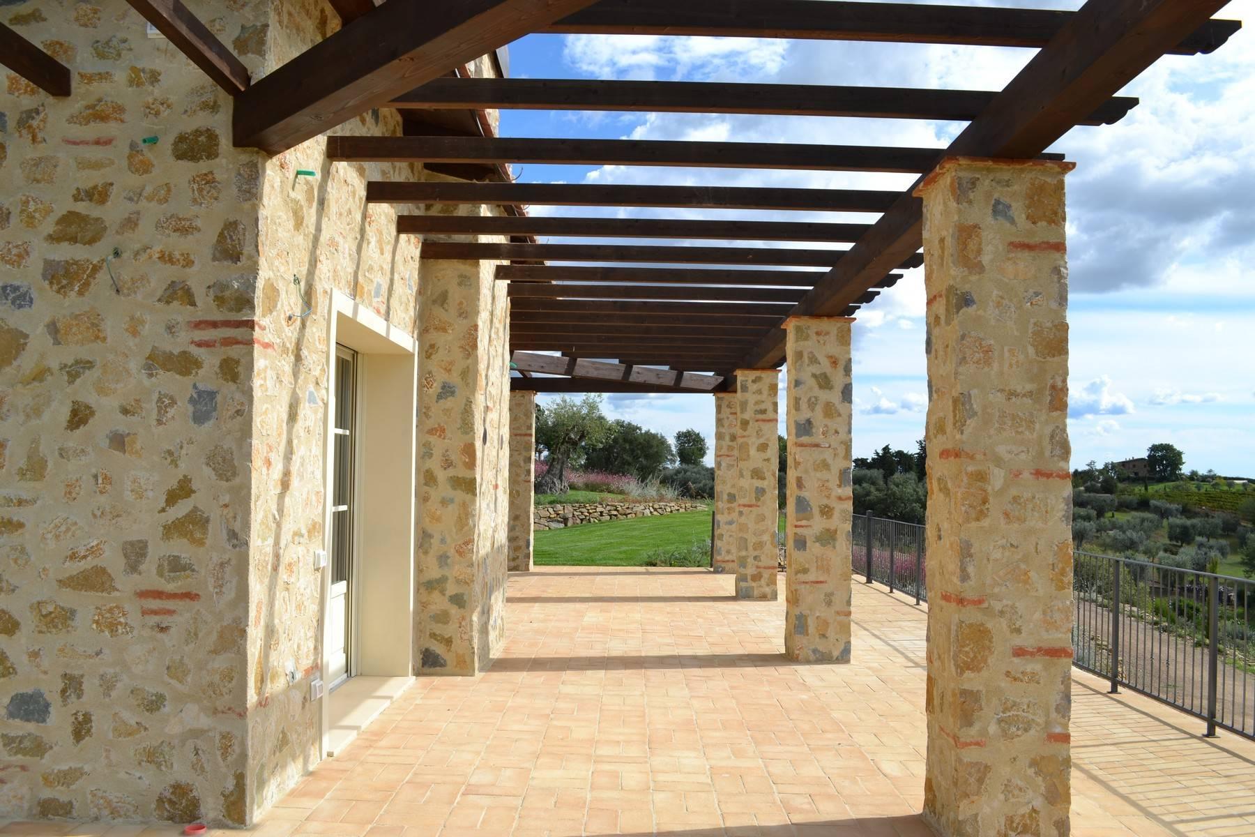 Esclusivo casale di nuova costruzione con piscina vista mare - 14