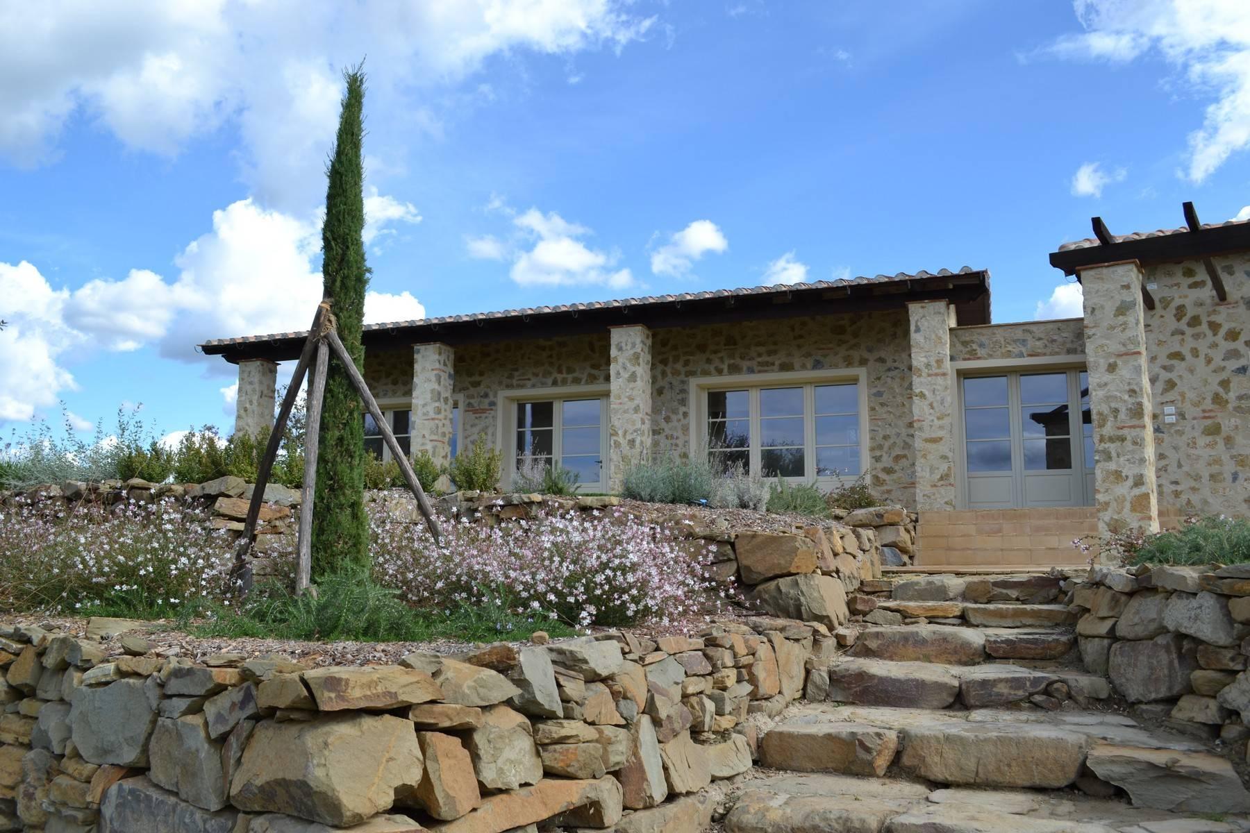 Esclusivo casale di nuova costruzione con piscina vista mare - 10