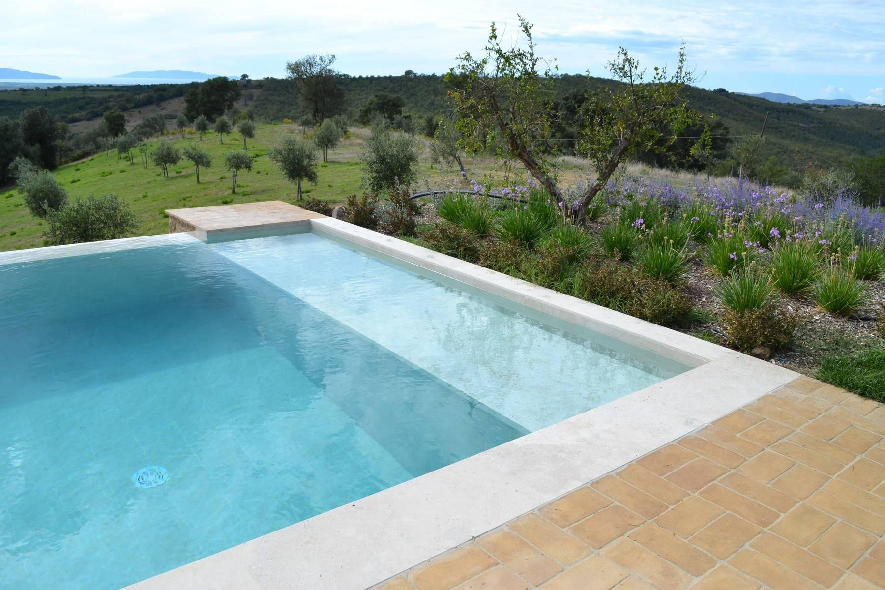 Newly built country house with pool overlooking the sea - 20