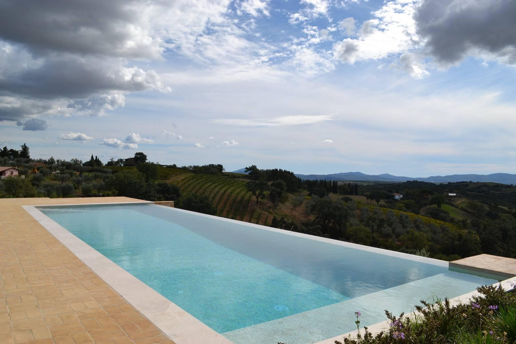 Esclusivo casale di nuova costruzione con piscina vista mare - 21