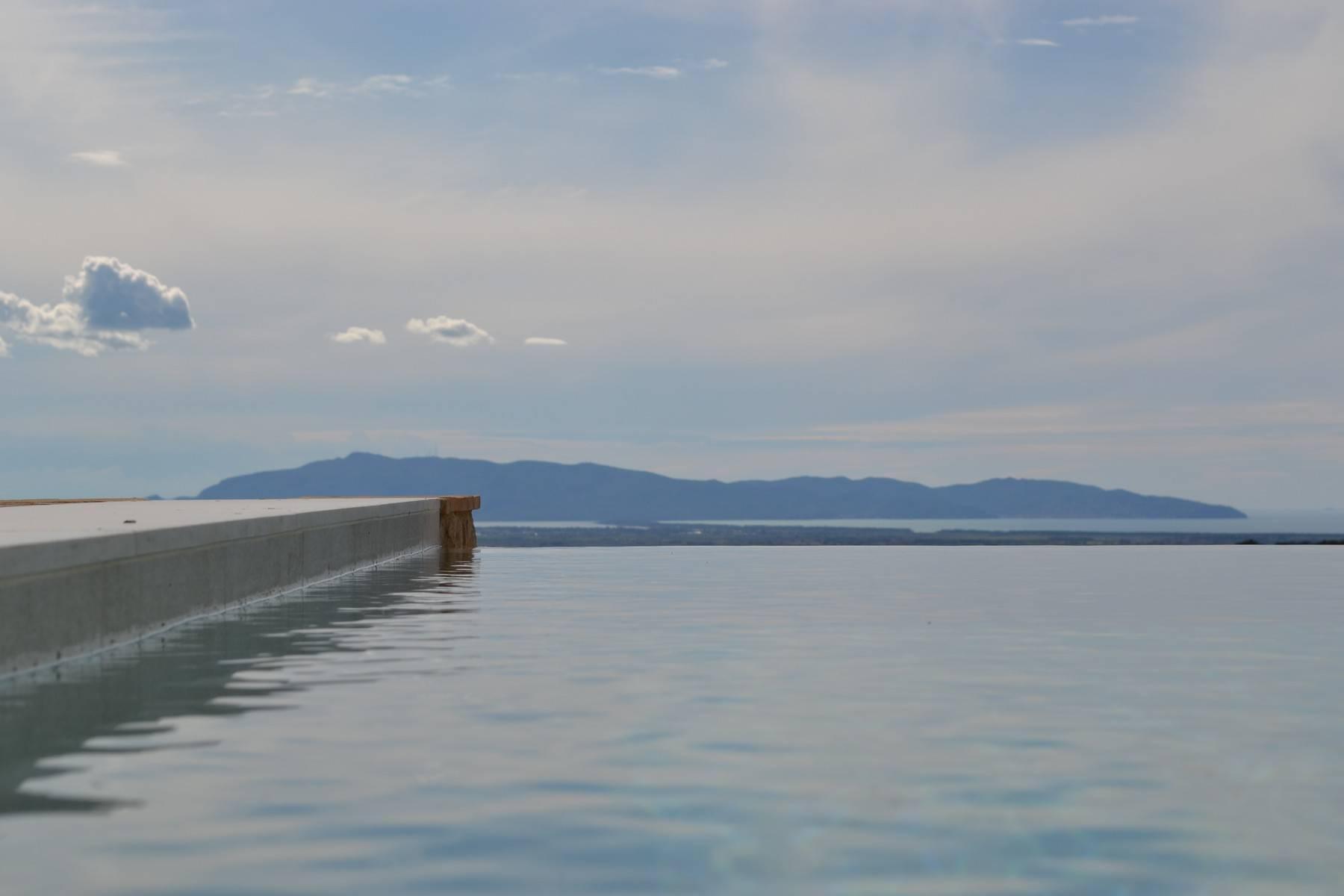 Esclusivo casale di nuova costruzione con piscina vista mare - 23