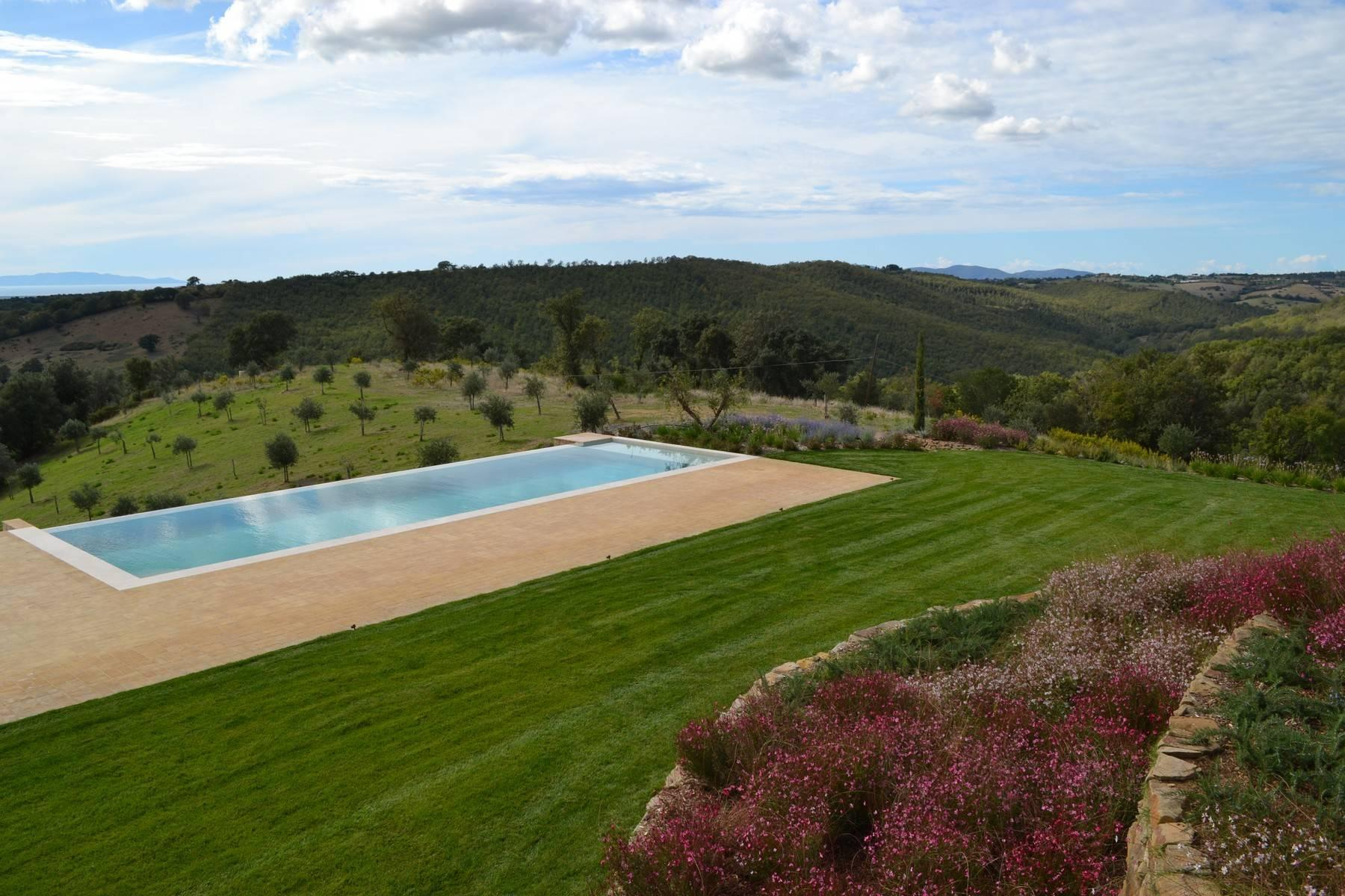 Newly built country house with pool overlooking the sea - 6
