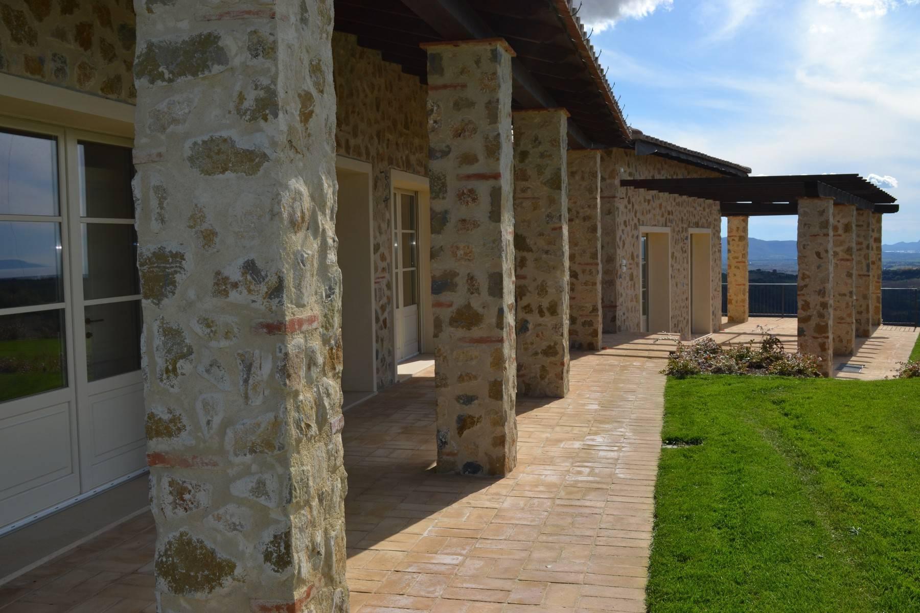 Esclusivo casale di nuova costruzione con piscina vista mare - 26