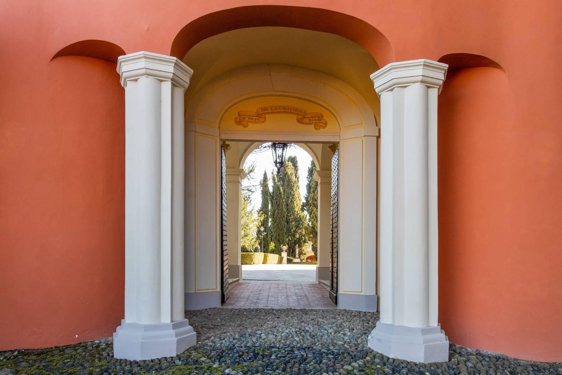 Stately mansion of the late 1600s in the hills nearby Turin - 15