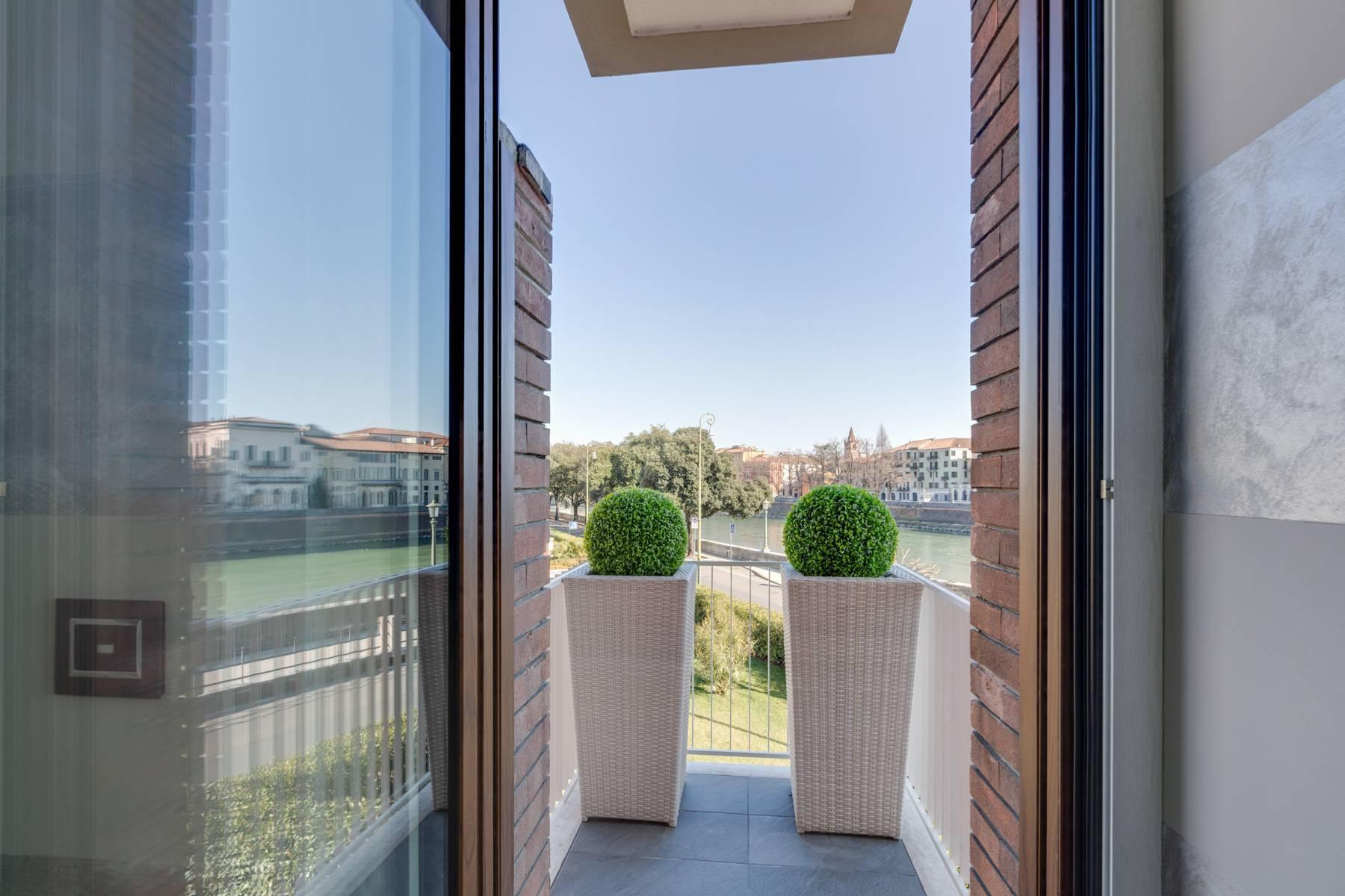 Elegante Wohnung mit Blick auf den Adige Fluss - 15
