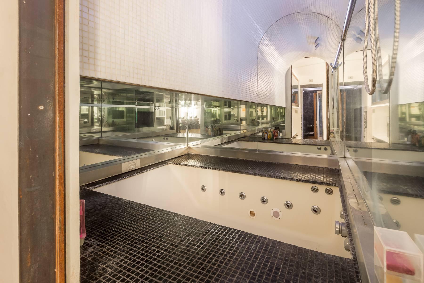 Attico e superattico con piscina in zona san Siro - 28