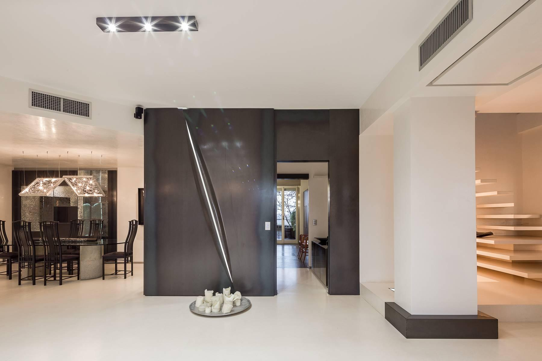 Penthouse with swimming pool in San Siro district - 9