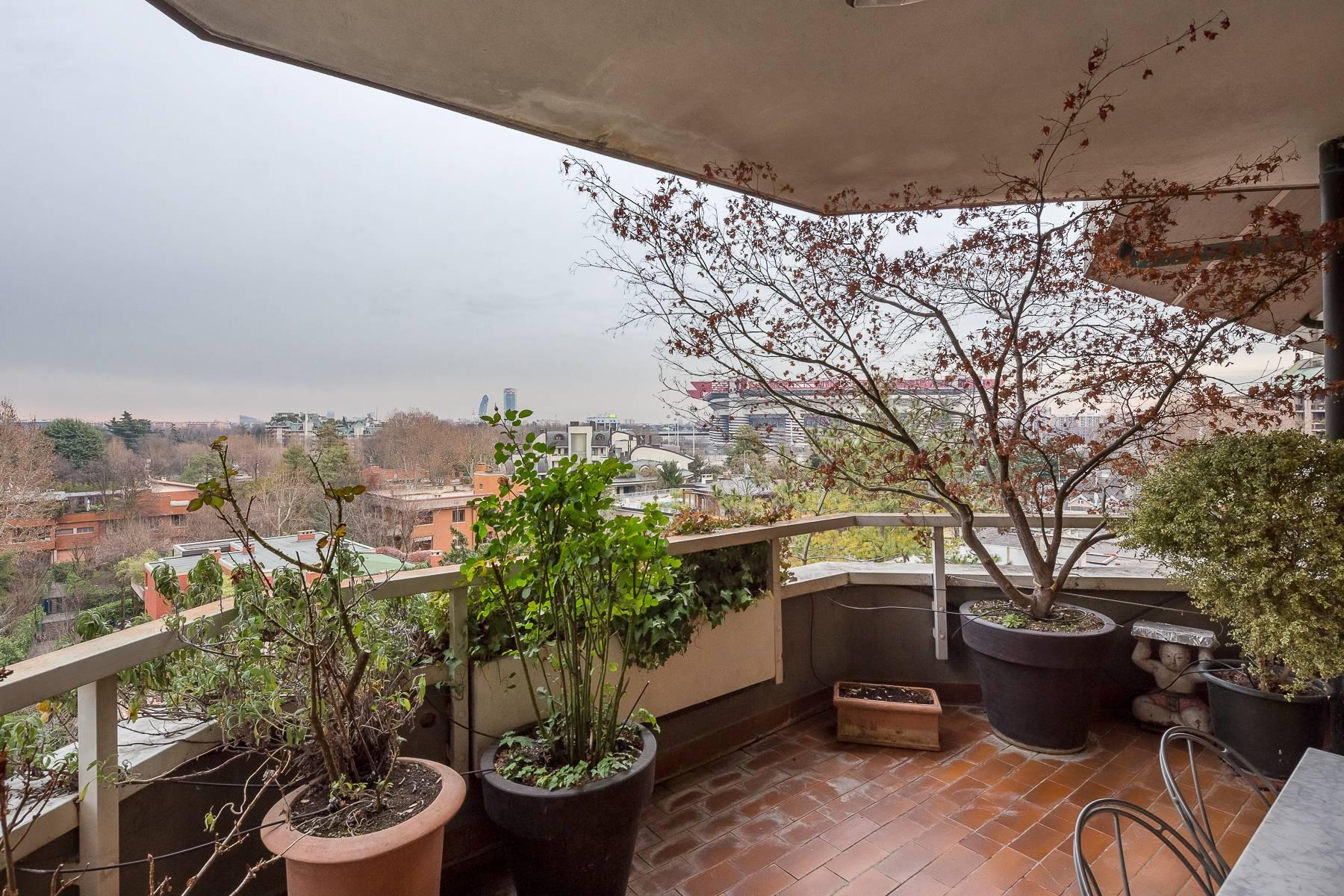 Penthouse with swimming pool in San Siro district - 33