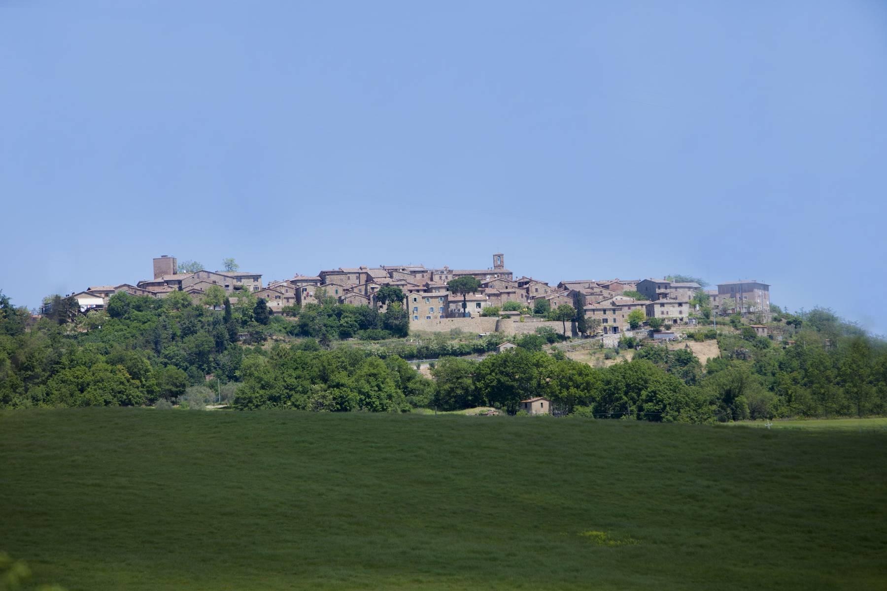 Incredible castle and hamlet  of the 12th century in the countryside of Siena - 15