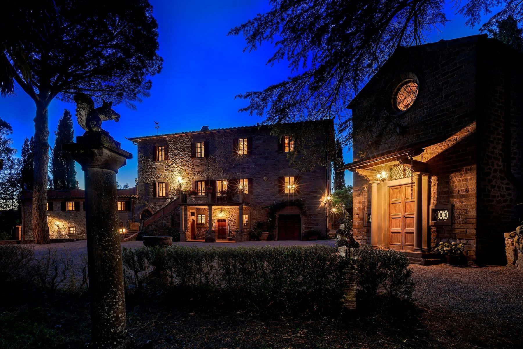 Historische Villa aus dem 1700 in Cortona - 4