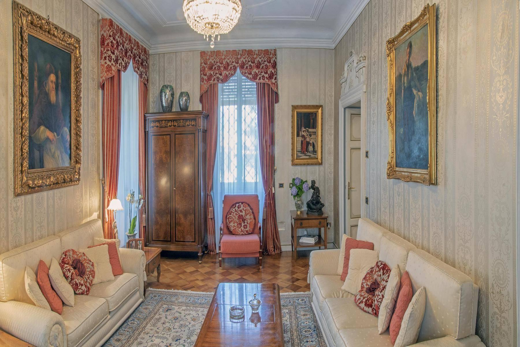 Majestic period villa with swimming pool and tower in the heart of Stresa - 18