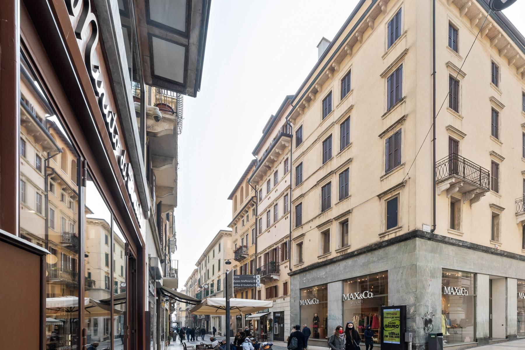Elegante attico nel cuore di Verona all'angolo di Via Mazzini e Piazza Erbe - 25