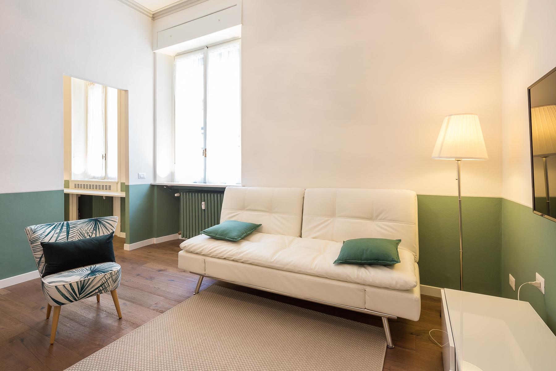 Beautiful furnished one-bedroom apartment in Corso Magenta - 8