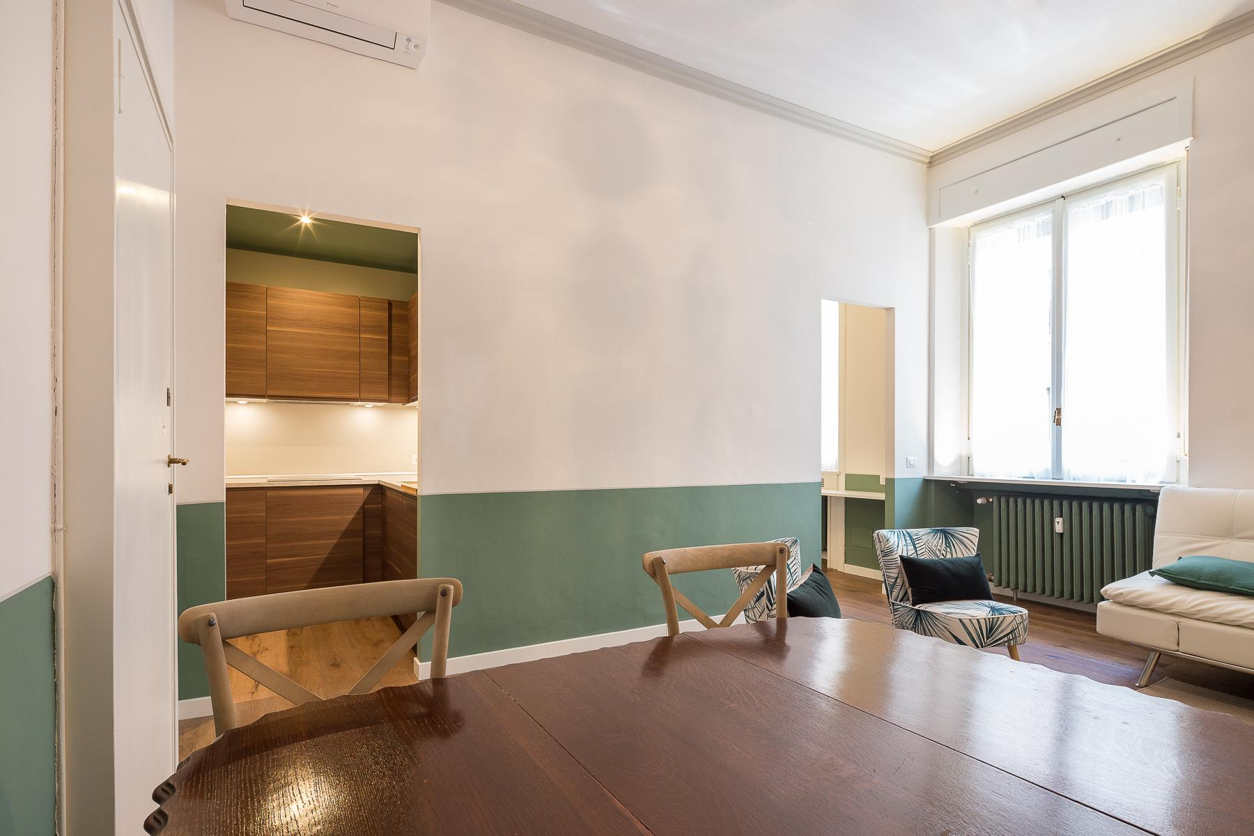 Beautiful furnished one-bedroom apartment in Corso Magenta - 3