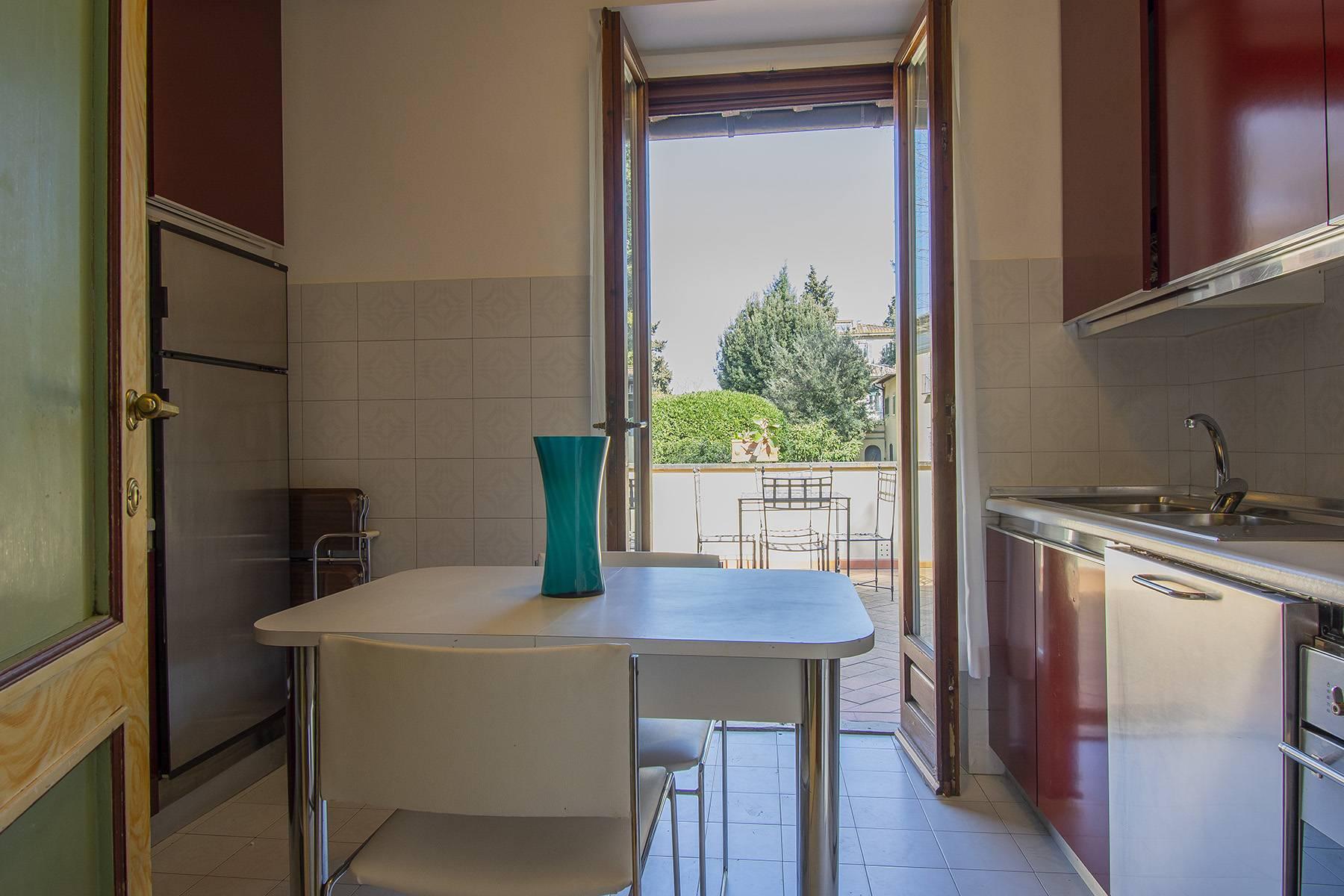 Très bel appartement rénové avec terrace près du Jardin de Boboli et de Poggio Imperiale - 14