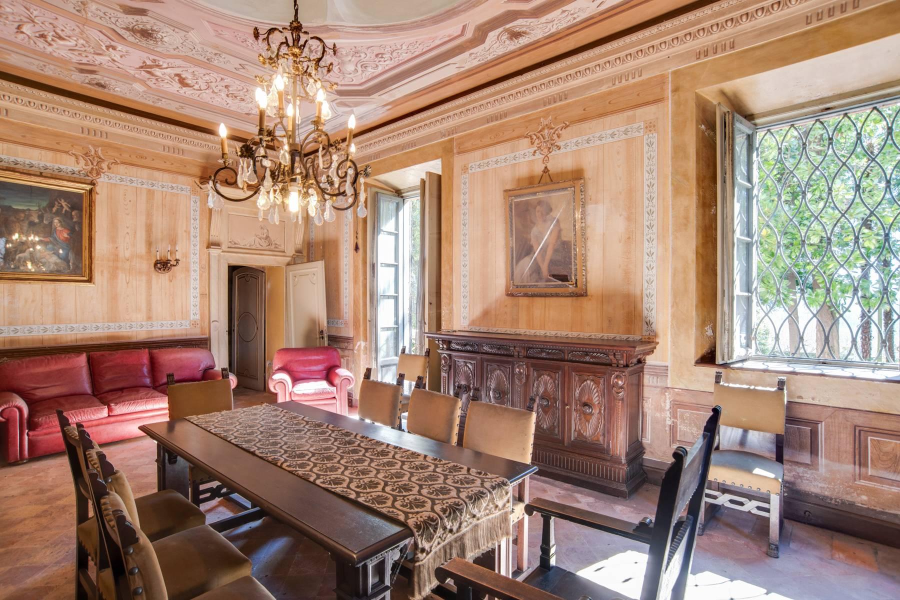 Historic villa with large park - 9