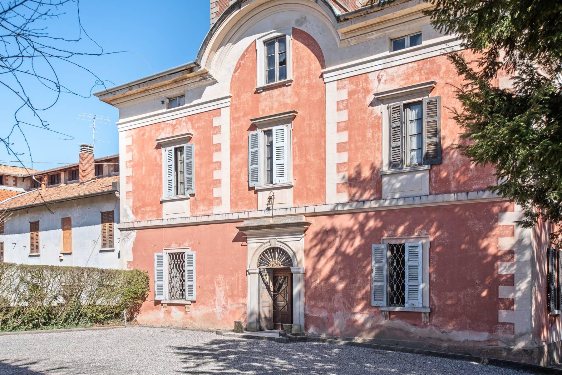 Historische Villa mit großem Park - 1
