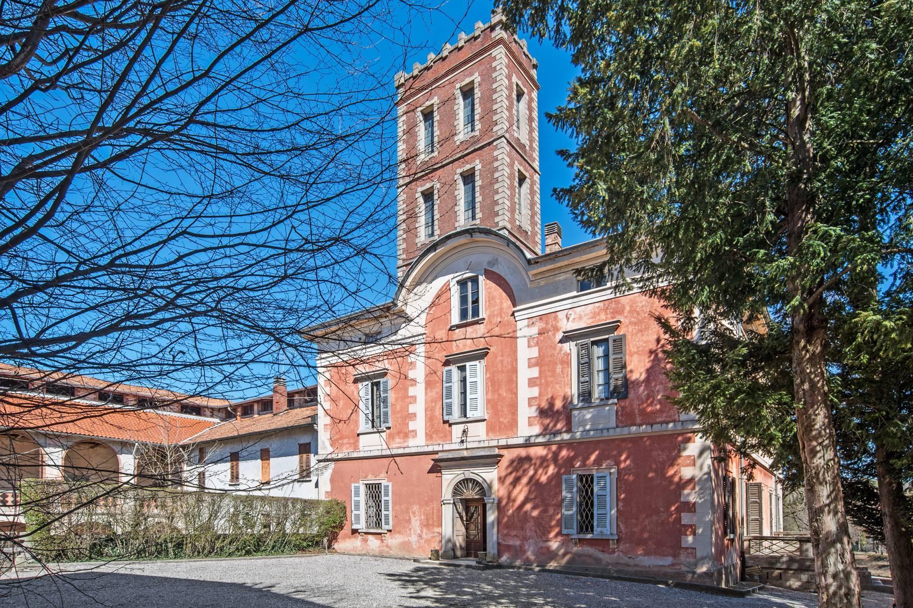 Historische Villa mit großem Park - 3
